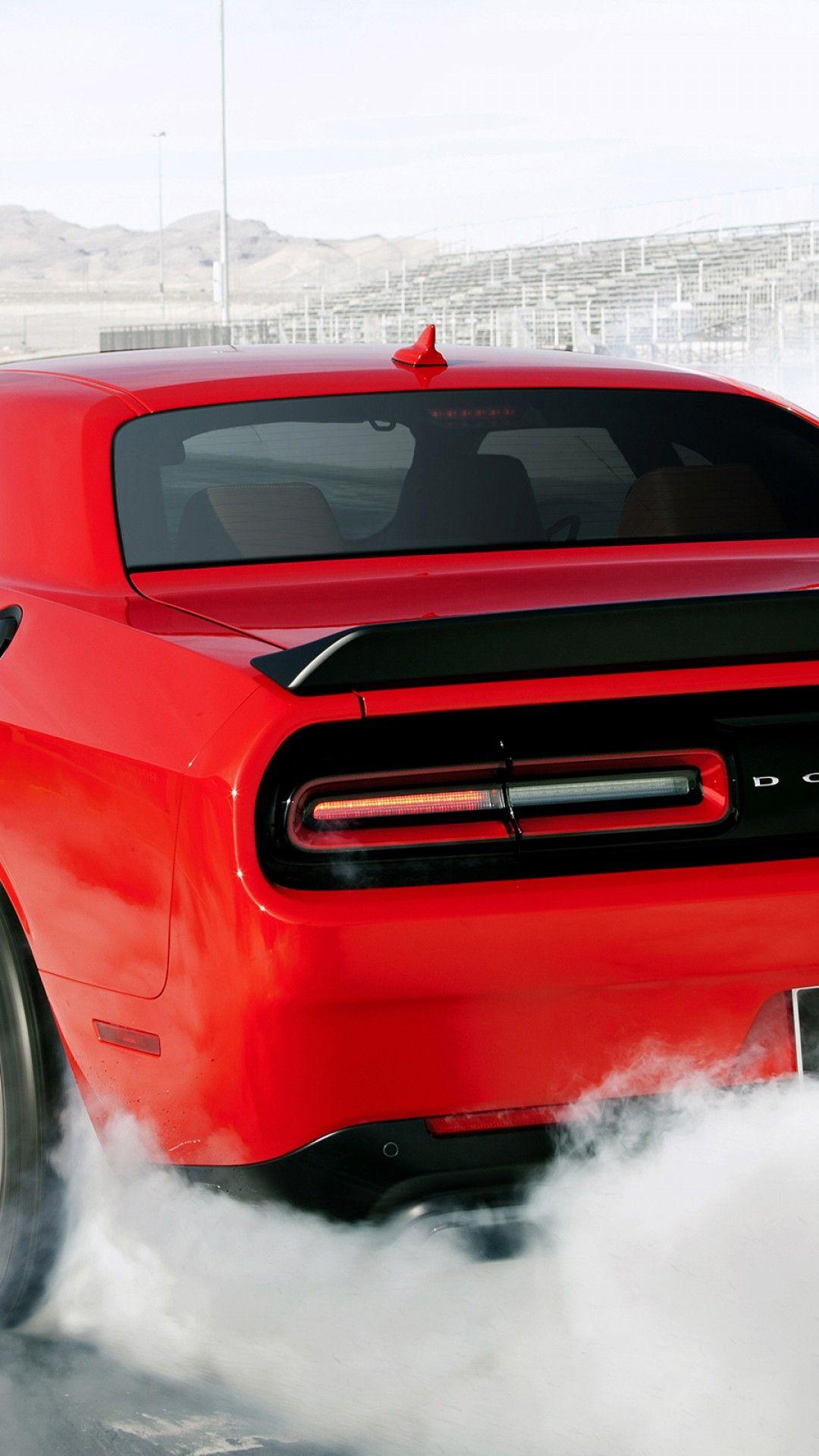 Dodge Challenger Srt Hellcat Iphone Wallpaper Nemetas