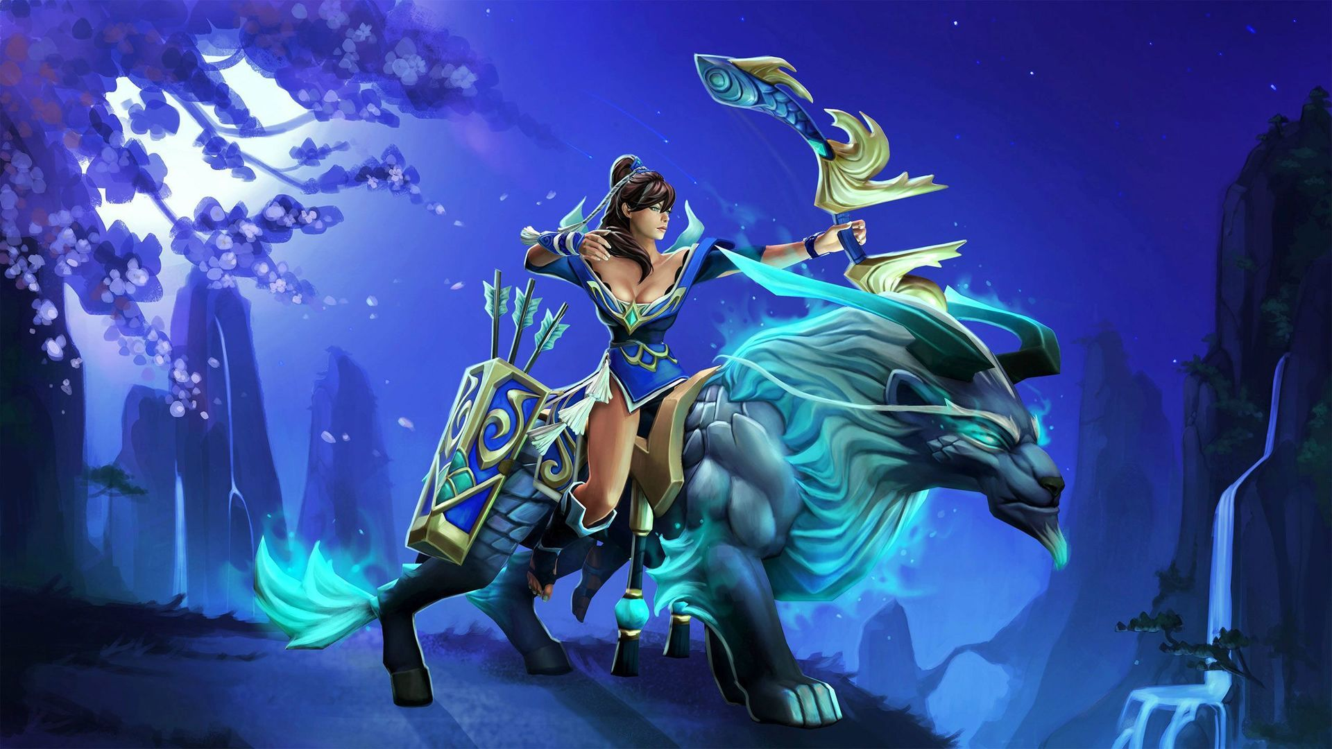 Dota 2 Luna Wallpapers WallpaperBoat