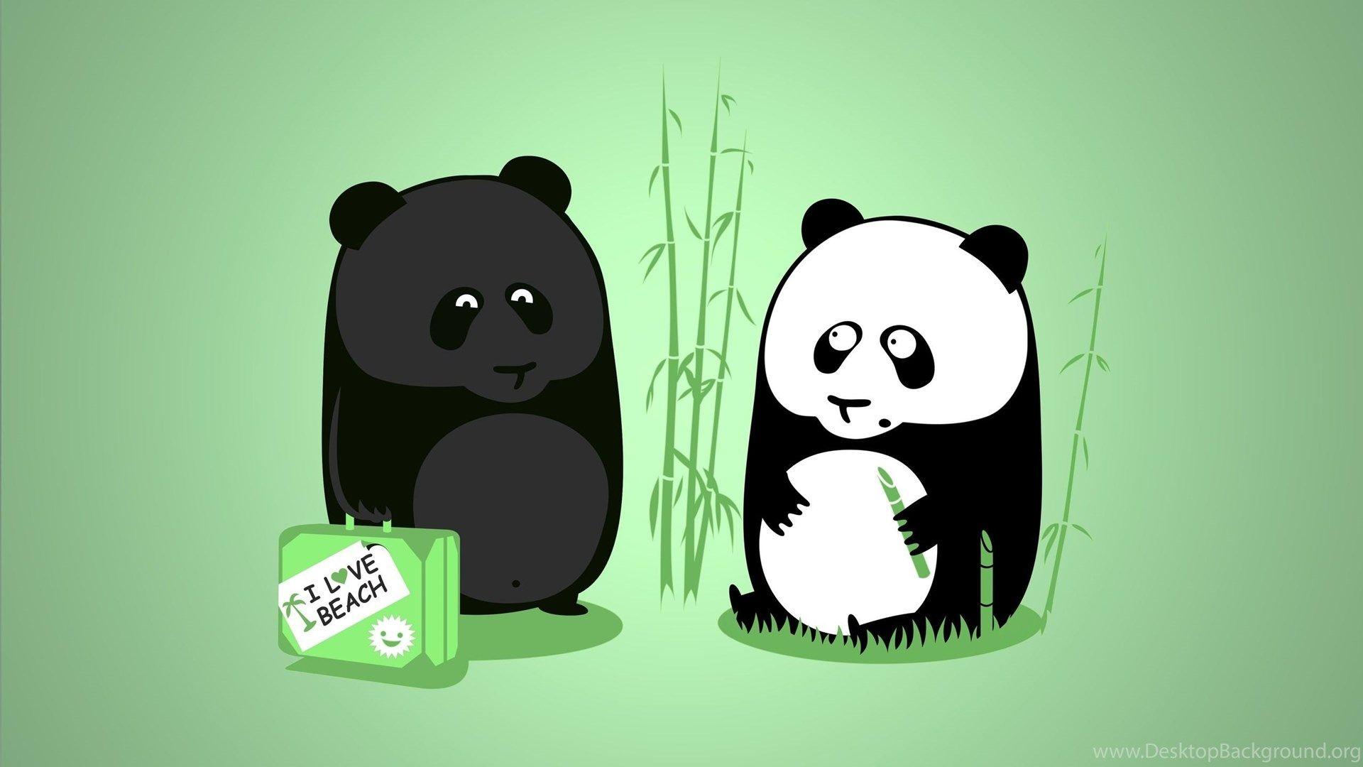 Download Cartoon Panda Wallpapers Populardesktop Background