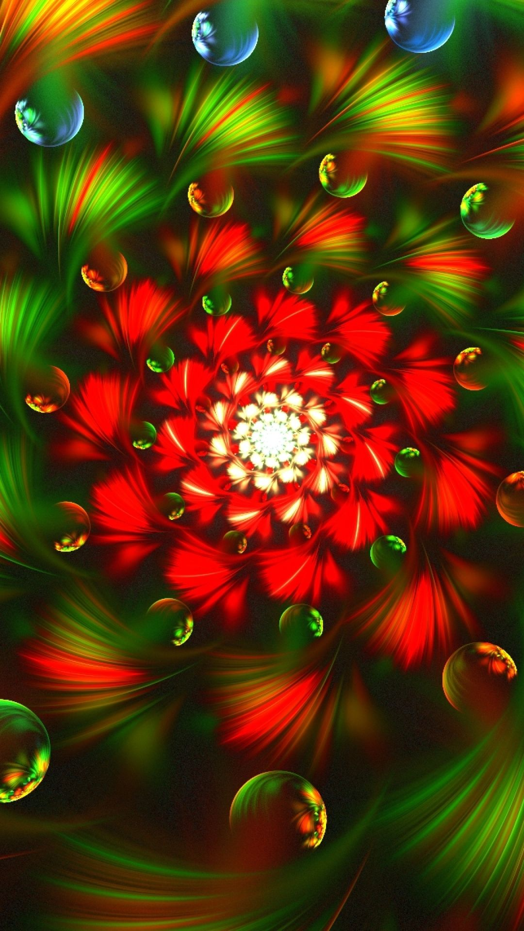Download D Abstract Fractal Colorful Hd Wallpaper And Backgrounds For Mobi
