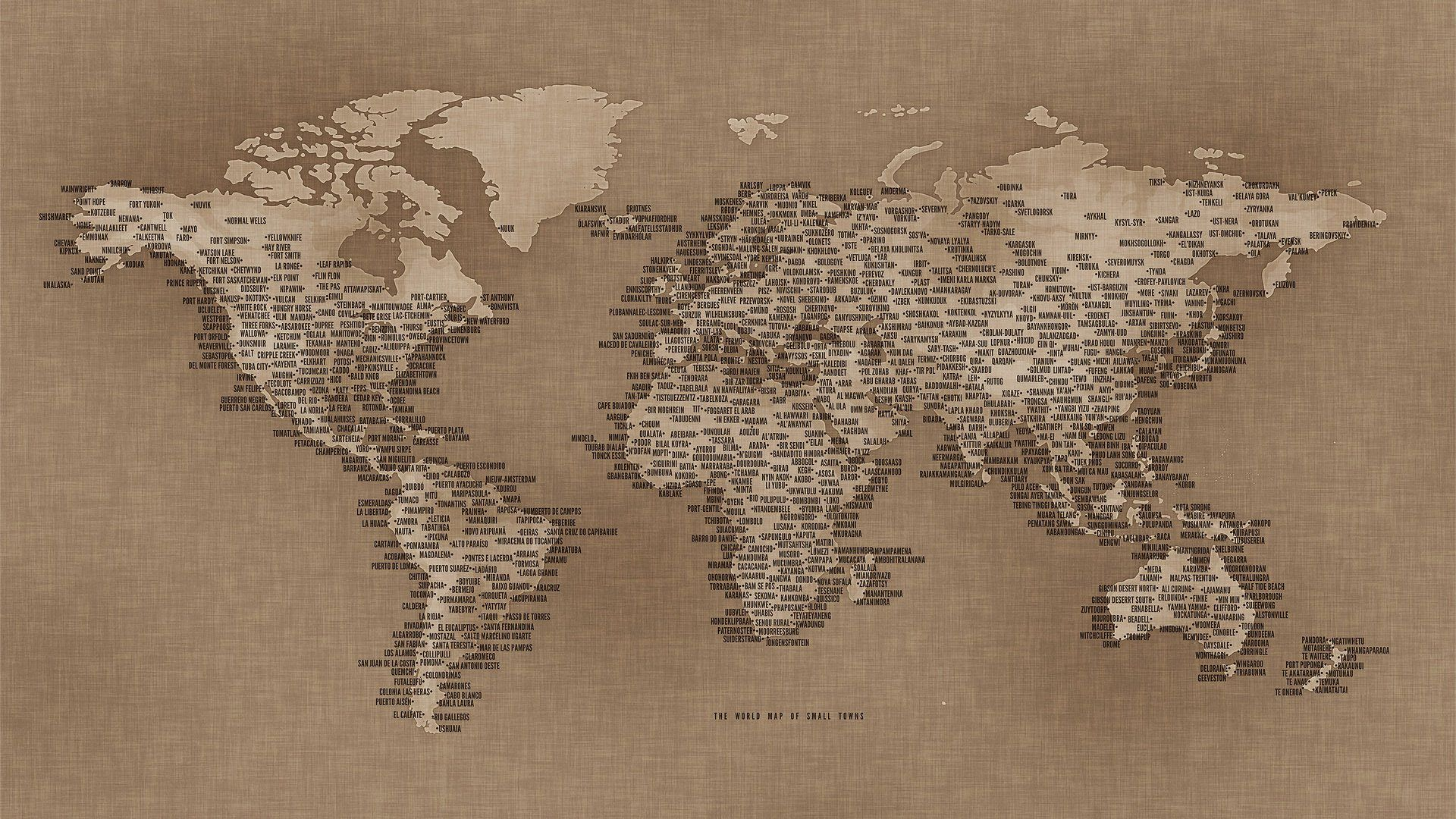 Download Wallpaper Map, Small Town, Map, Small Town