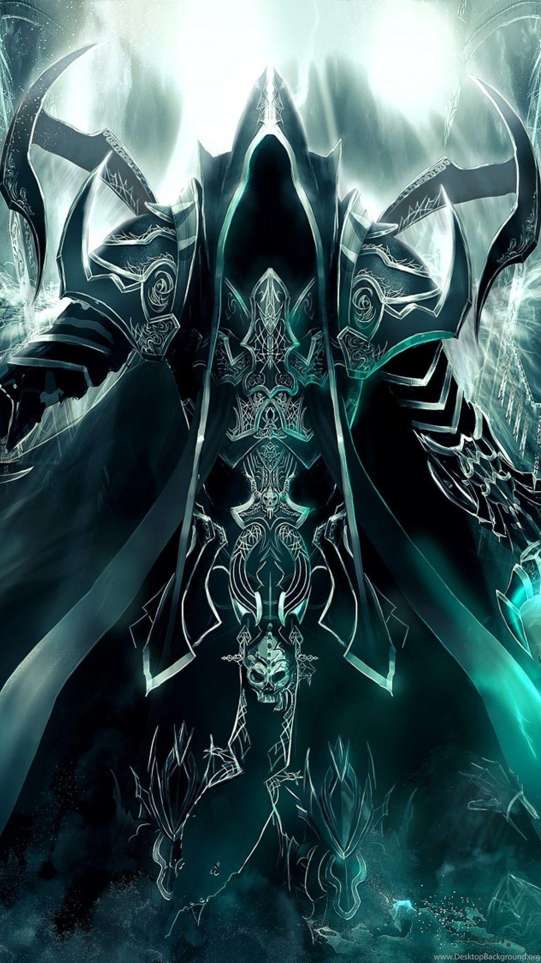 Download Wallpapers Art, Diablo Iii, Reaper Of Souls
