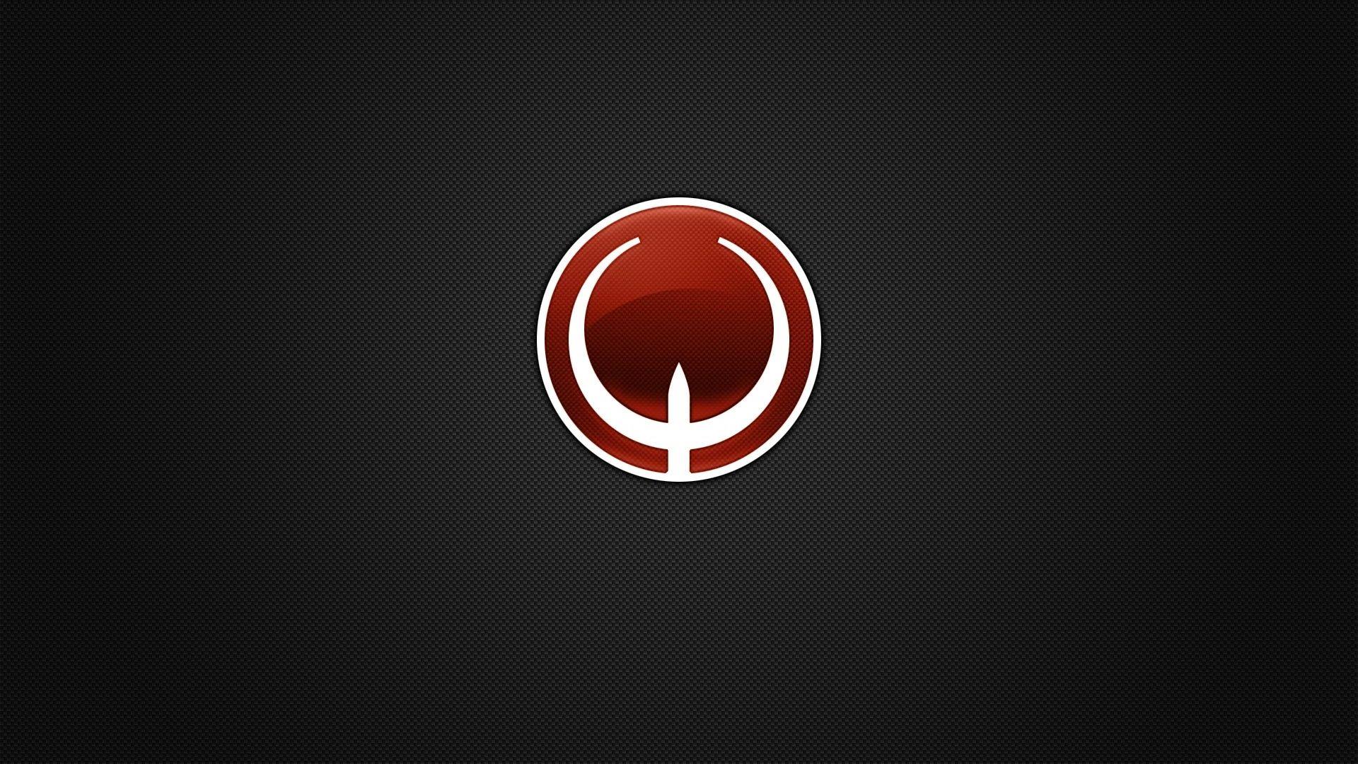 Download Quake, Symbol, Circle, Background, Shadow Wallpaper