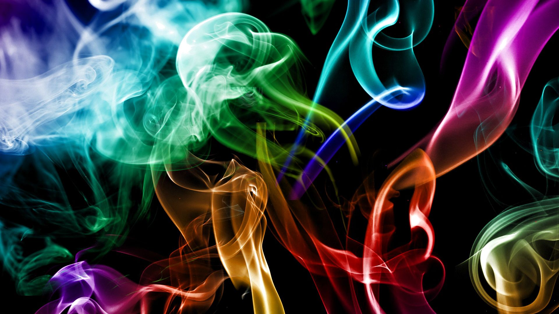 Download Smoke Wallpaper, Multicolored Smoke
