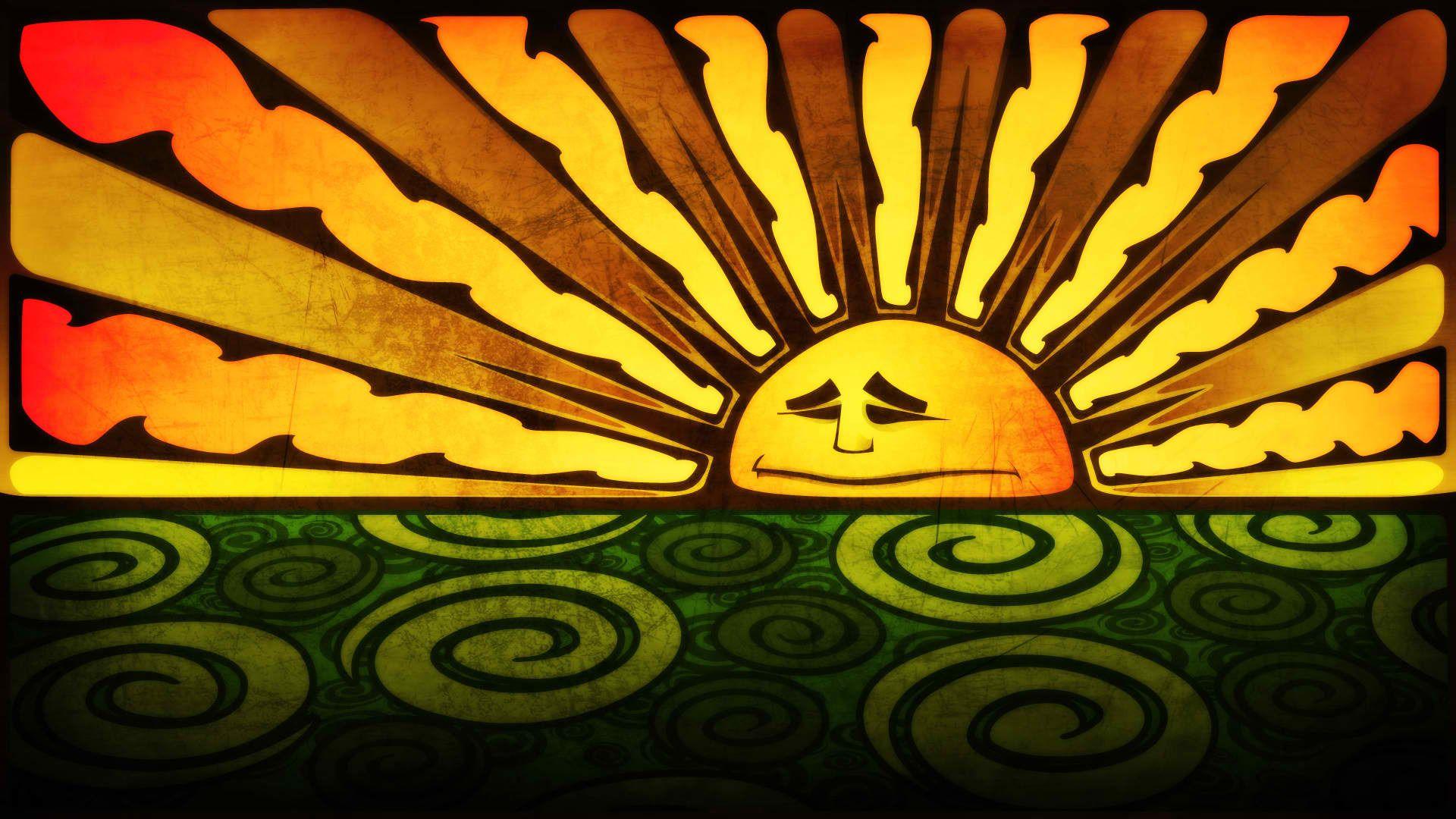 Download Wallpaper Figure, Color, The Sun, Section Miscellanea