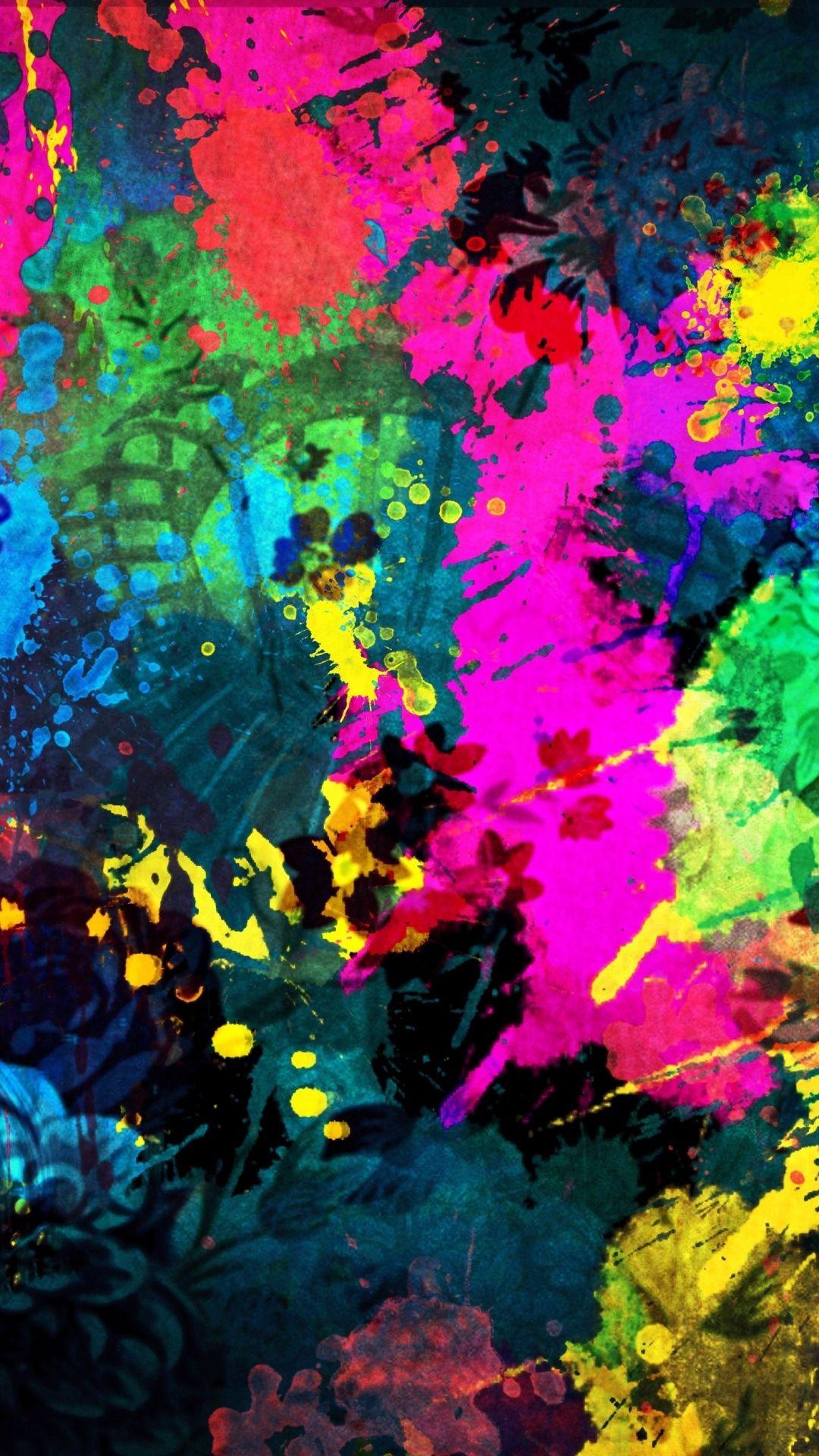 Downloadwallpaper Contemporary Art, Psychedelic Art, Art, Acryli