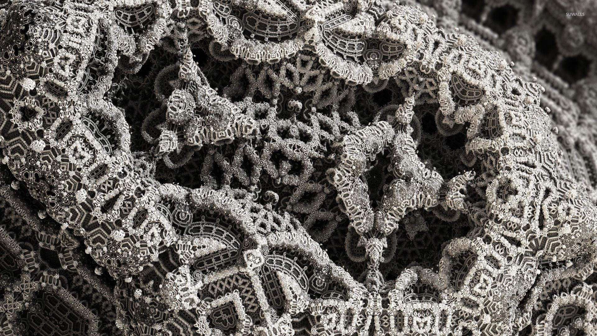 Fractal Lace Wallpapers