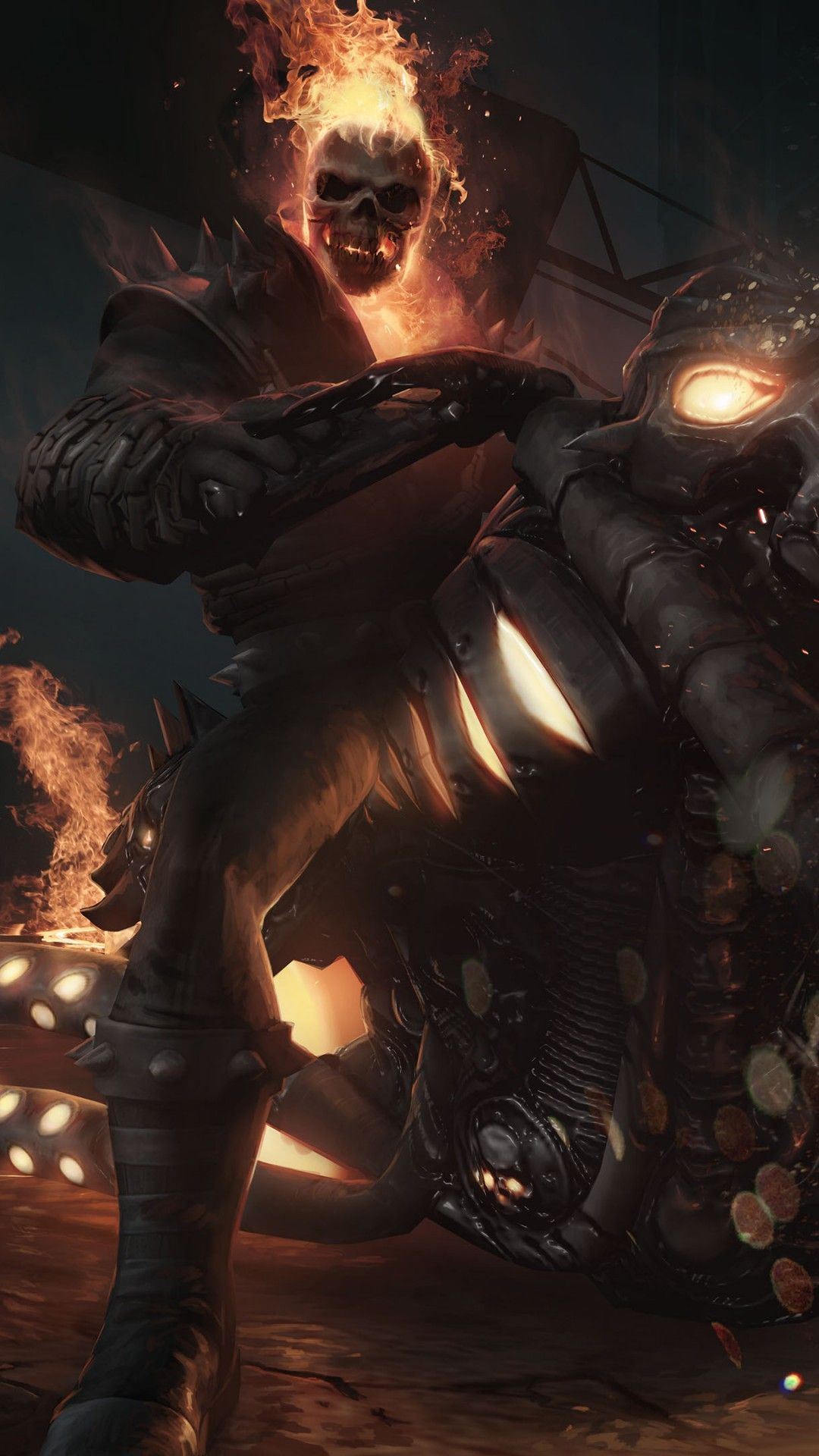 Ghost Rider K Wallpaper