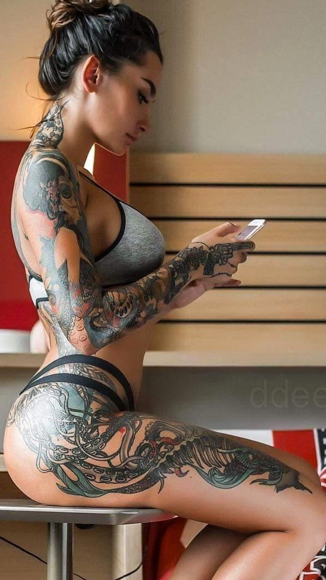 Great Tattoos, Beautiful Body Art Insane Girl Ta
