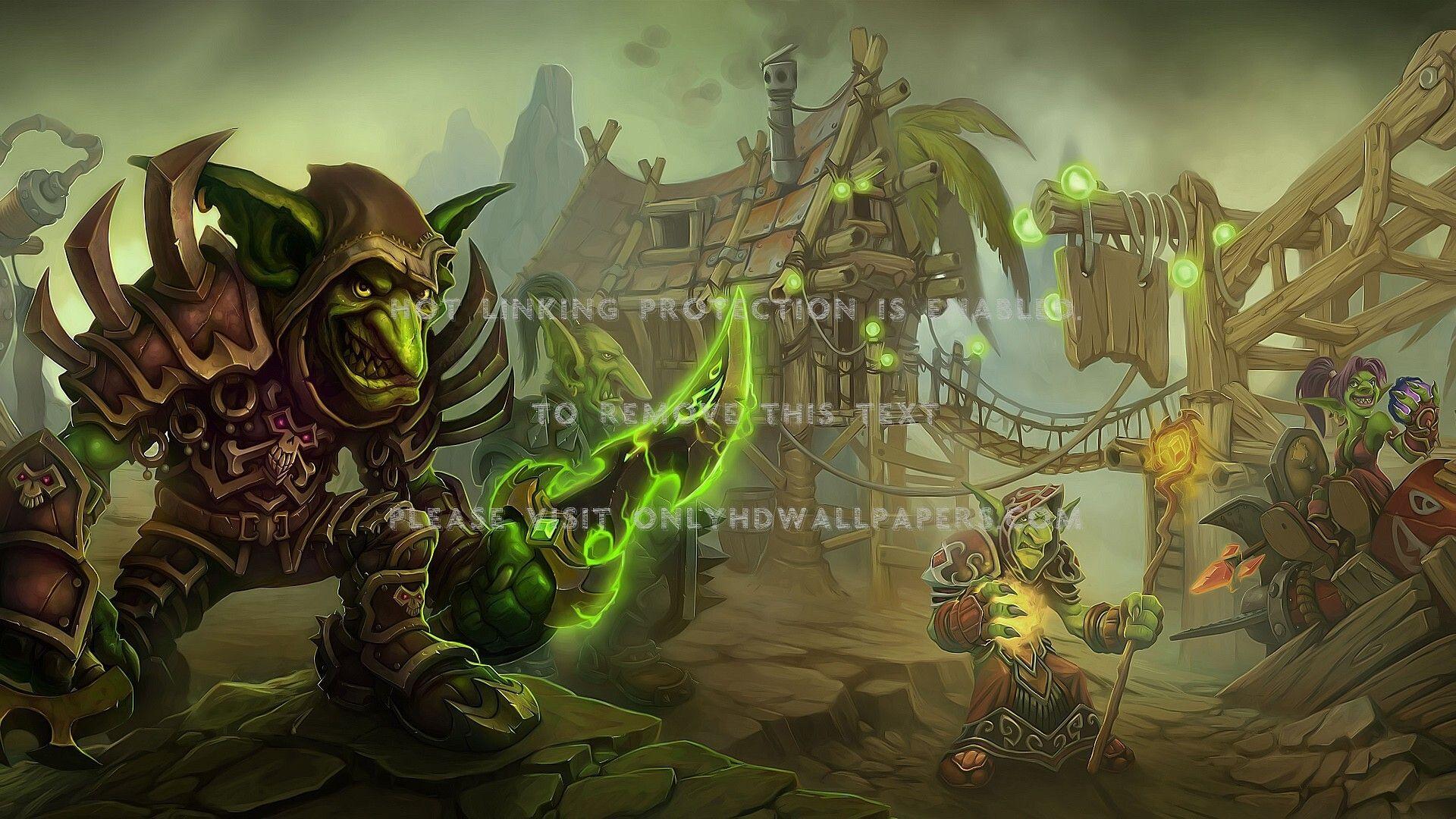 Green World Of Warcraft Random