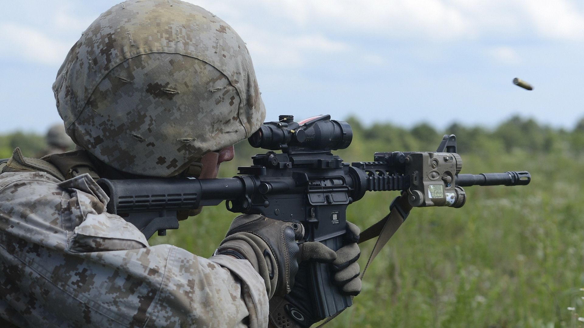 Hd Wallpapers Soldiers, Weapons, United States Marine Corps