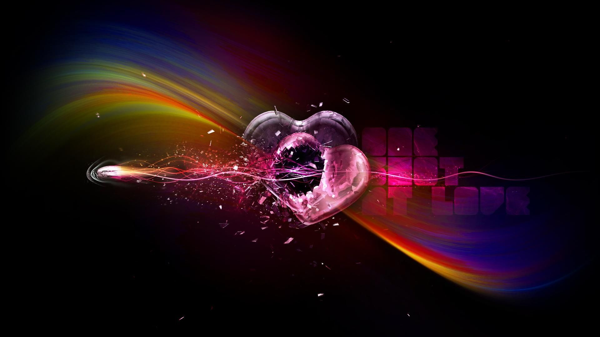 Heart, Abstraction, Background For Your Desktop