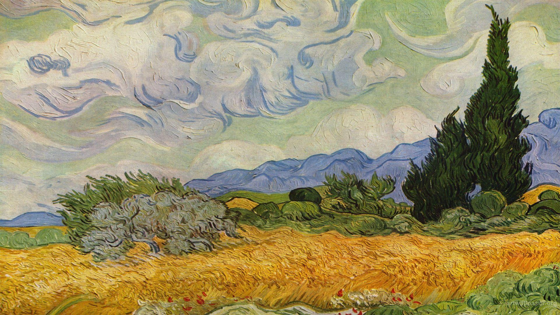 Home Full Hd Art Wallpaper Fine Art Vincent Van Gogh
