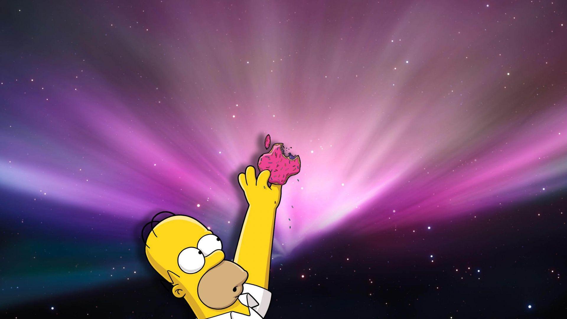 Homer Loves Donuts