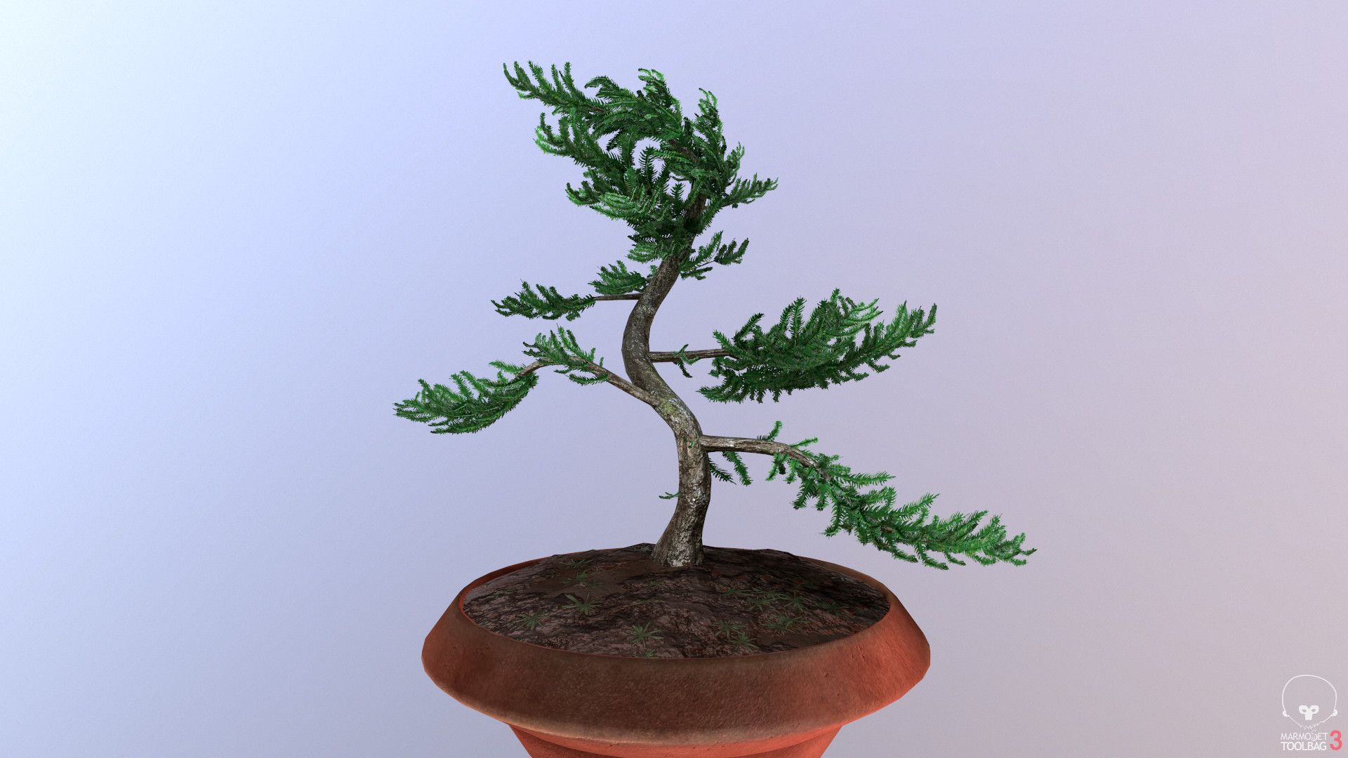 I Love Trees And Have Always Wanted To Model A Bonsai Tree