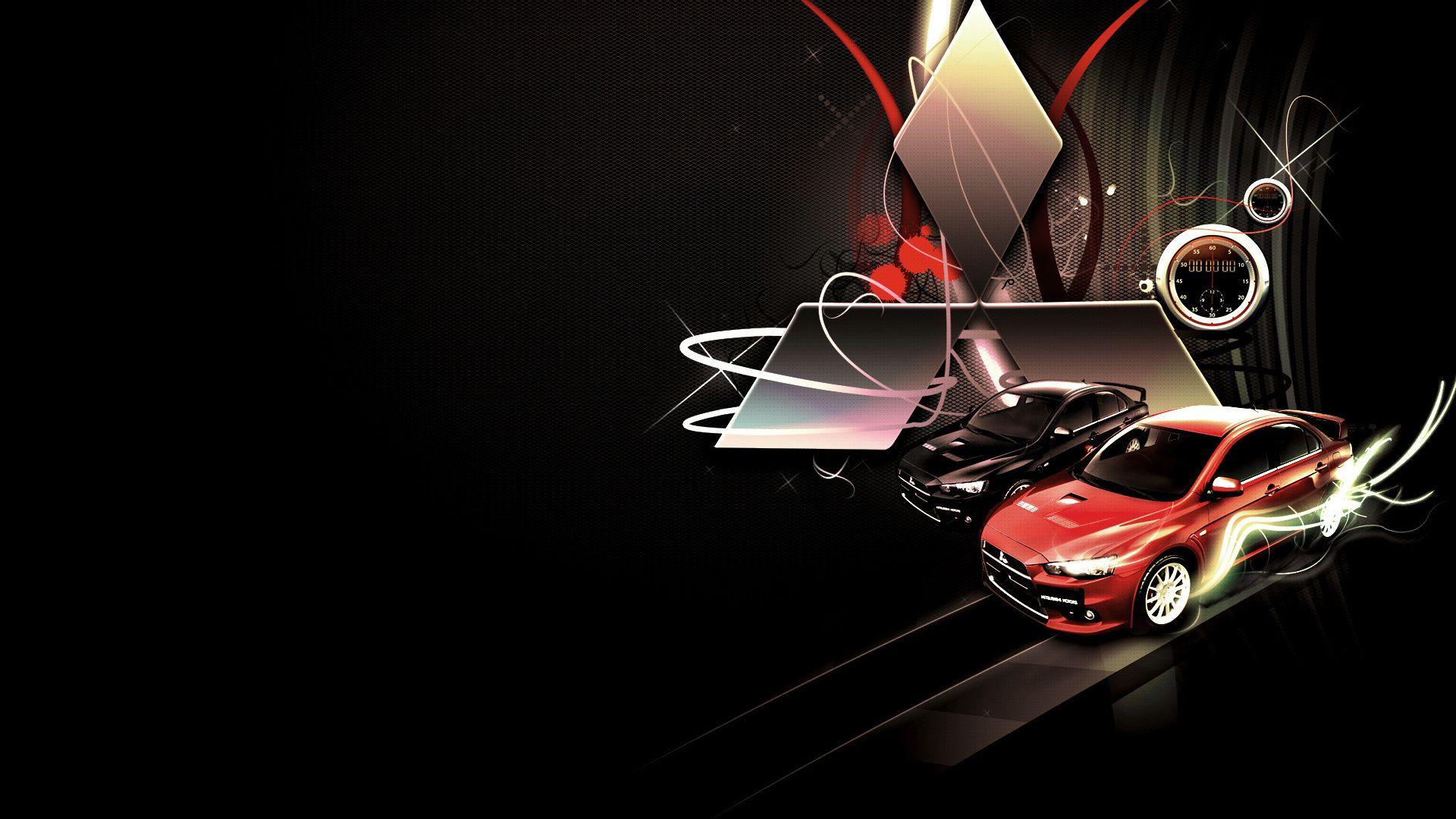 Iphone Wallpapers Mitsubishi, Car Logo Vertical
