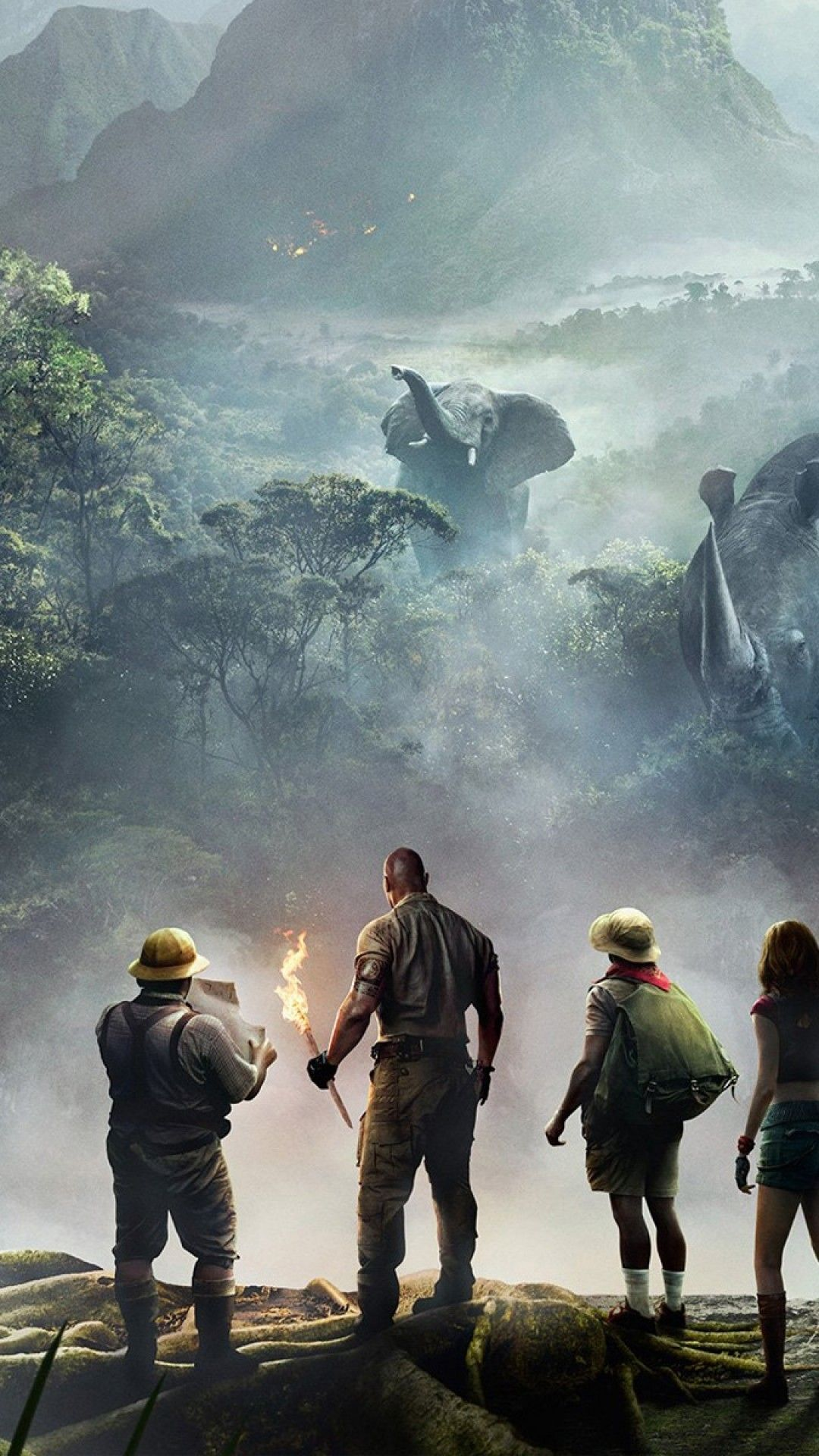 Jumanji Welcome To The Jungle, Dwayne Johnson, Kevin Hart