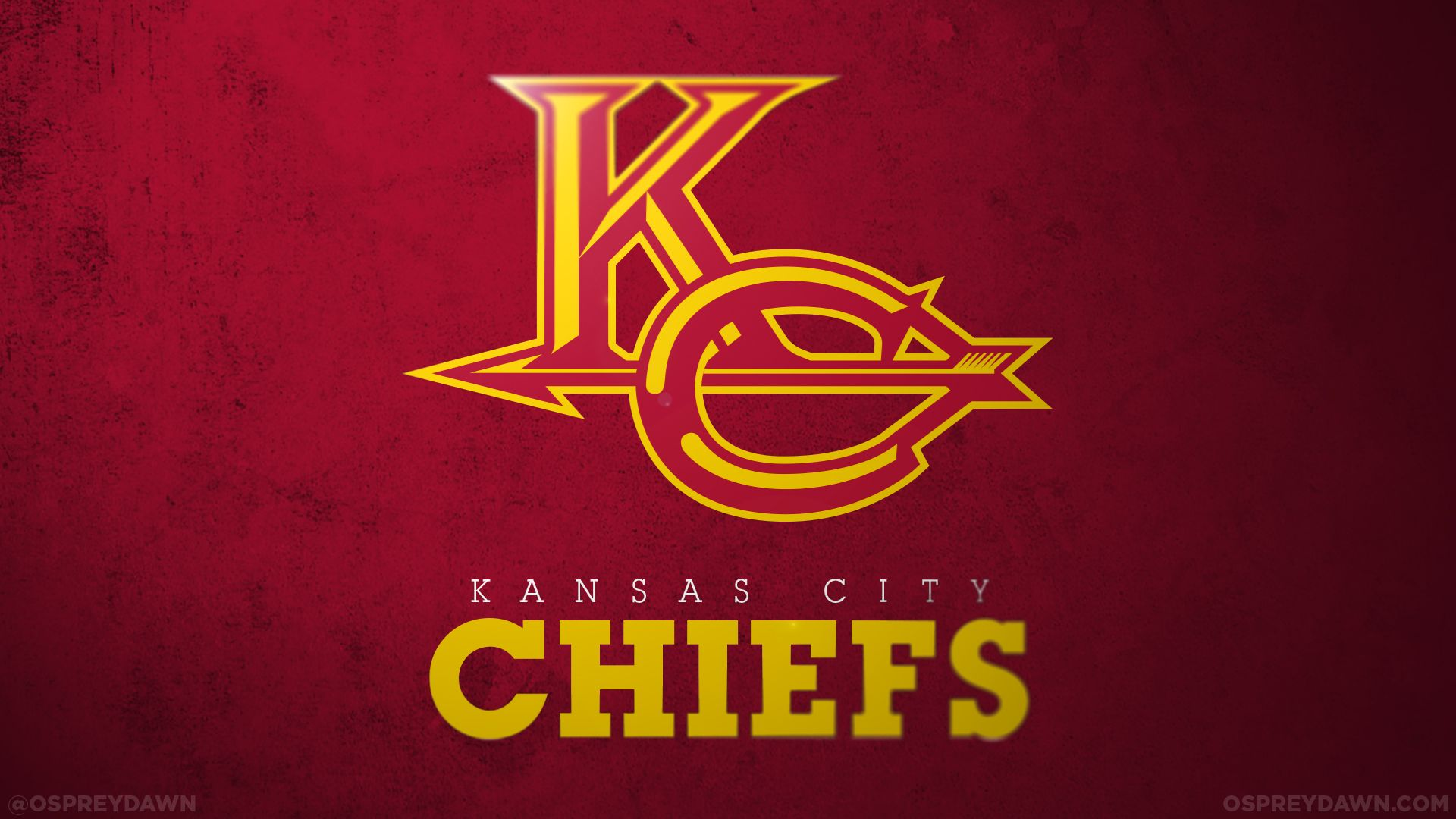 Kansas City Chiefs Football Team Logo Wallpaper