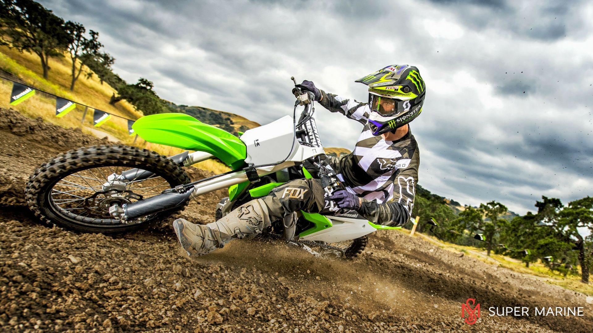 Kawasaki Kxf Green