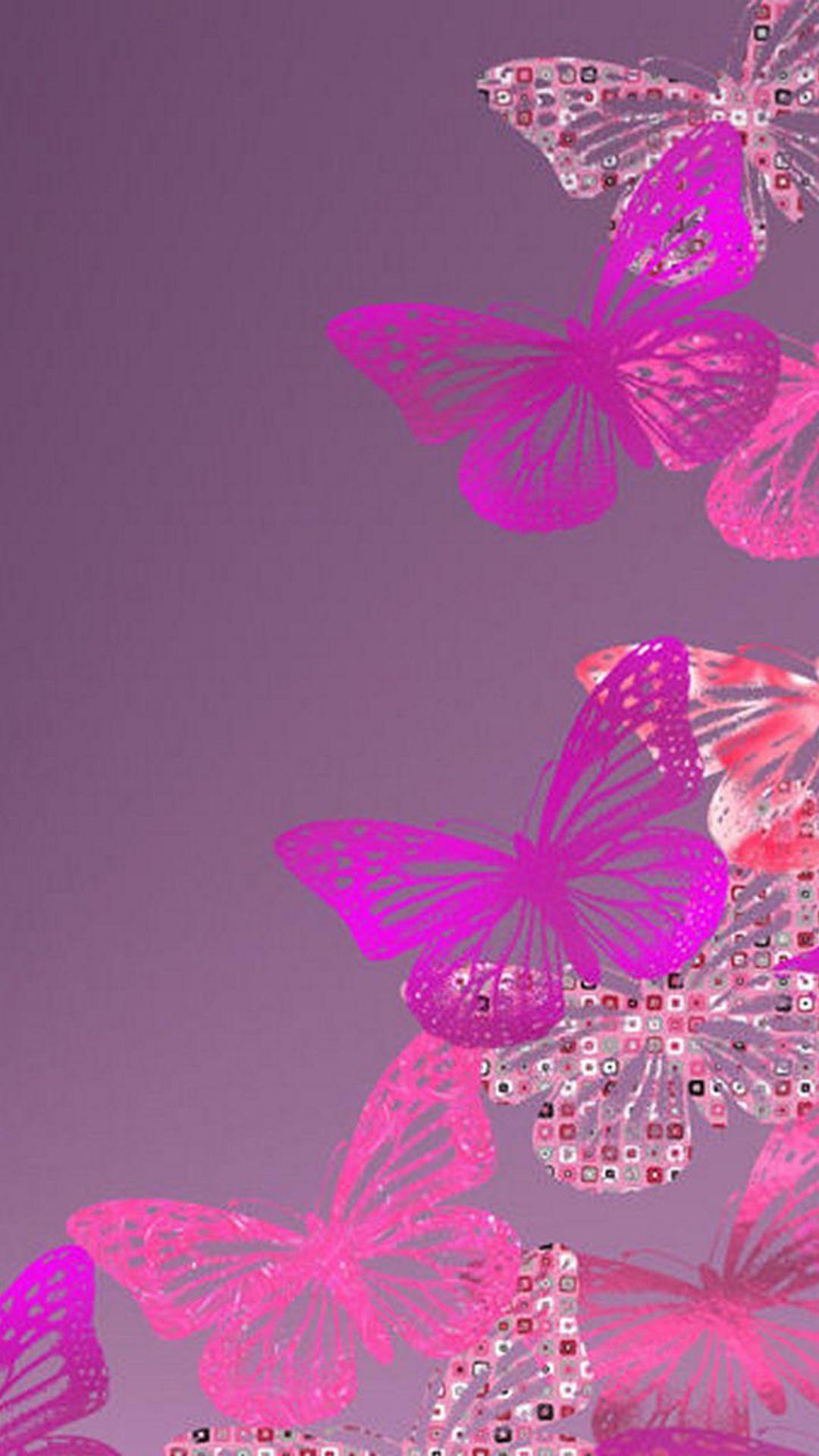 Kimberly Rochin On Butterflies Wallpaper