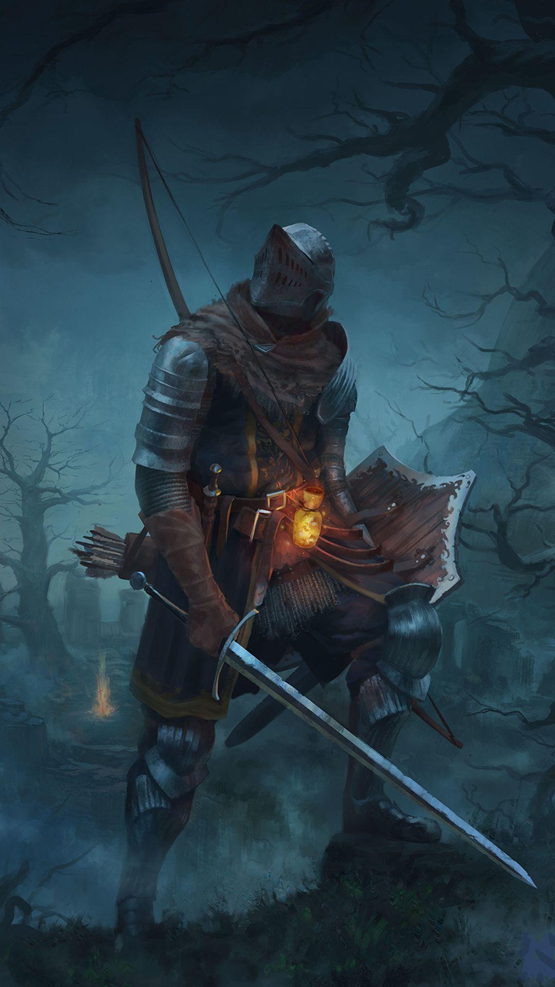 Knight Dark Souls Armor Swords Shield Fantasy Photo Fantasy, Armor