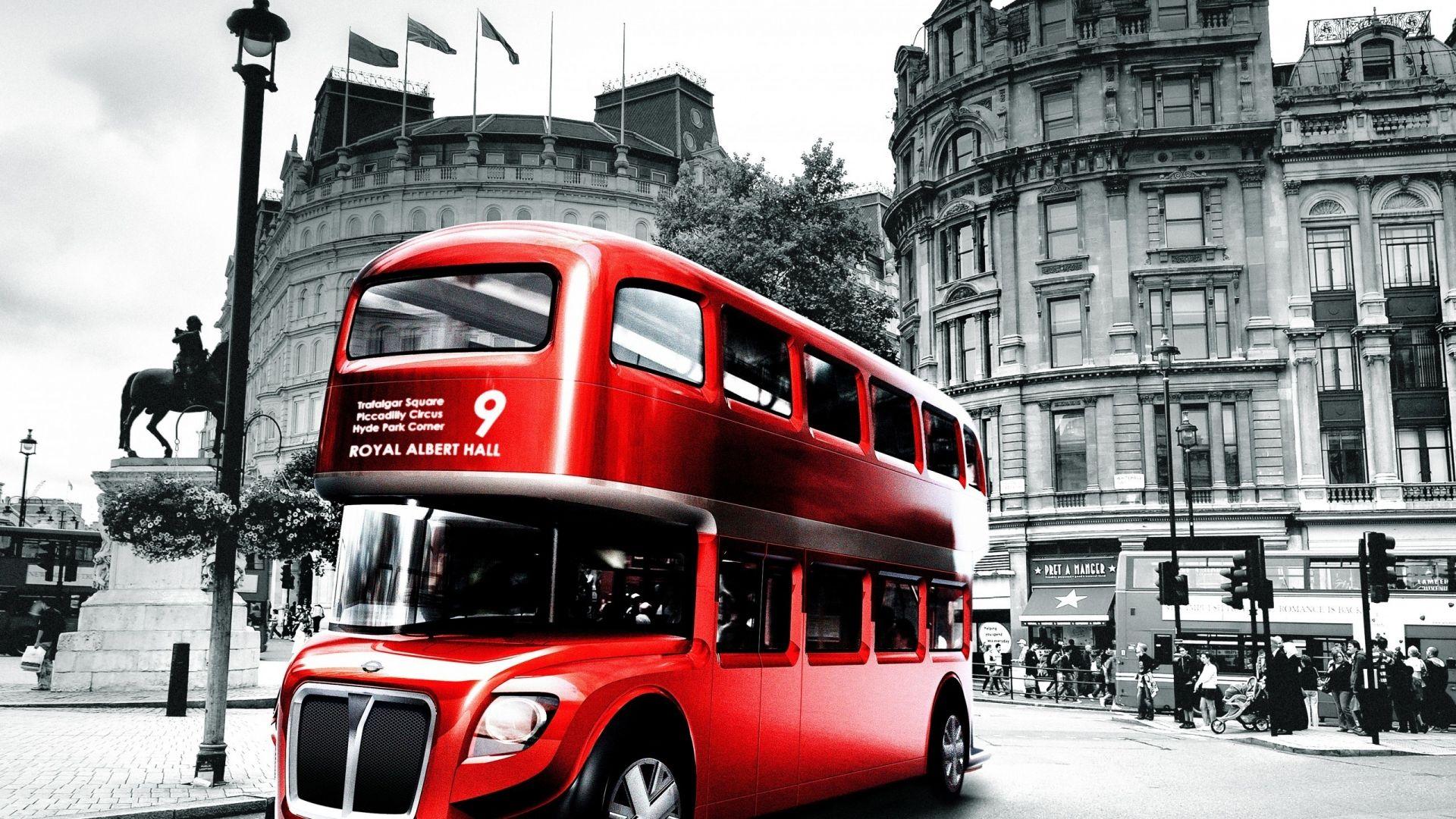 London Bus Design For Hdtv Resolution