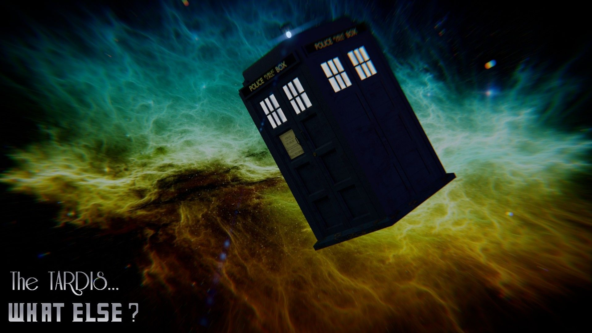 Mickael G Tardis In The Space