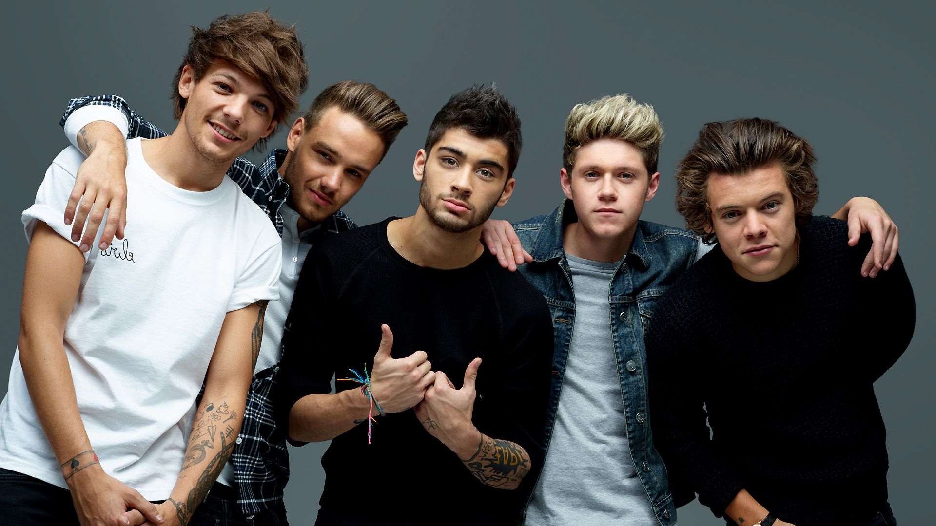 One Direction Pictures One Direction Photos Wallpaper Hd Black And