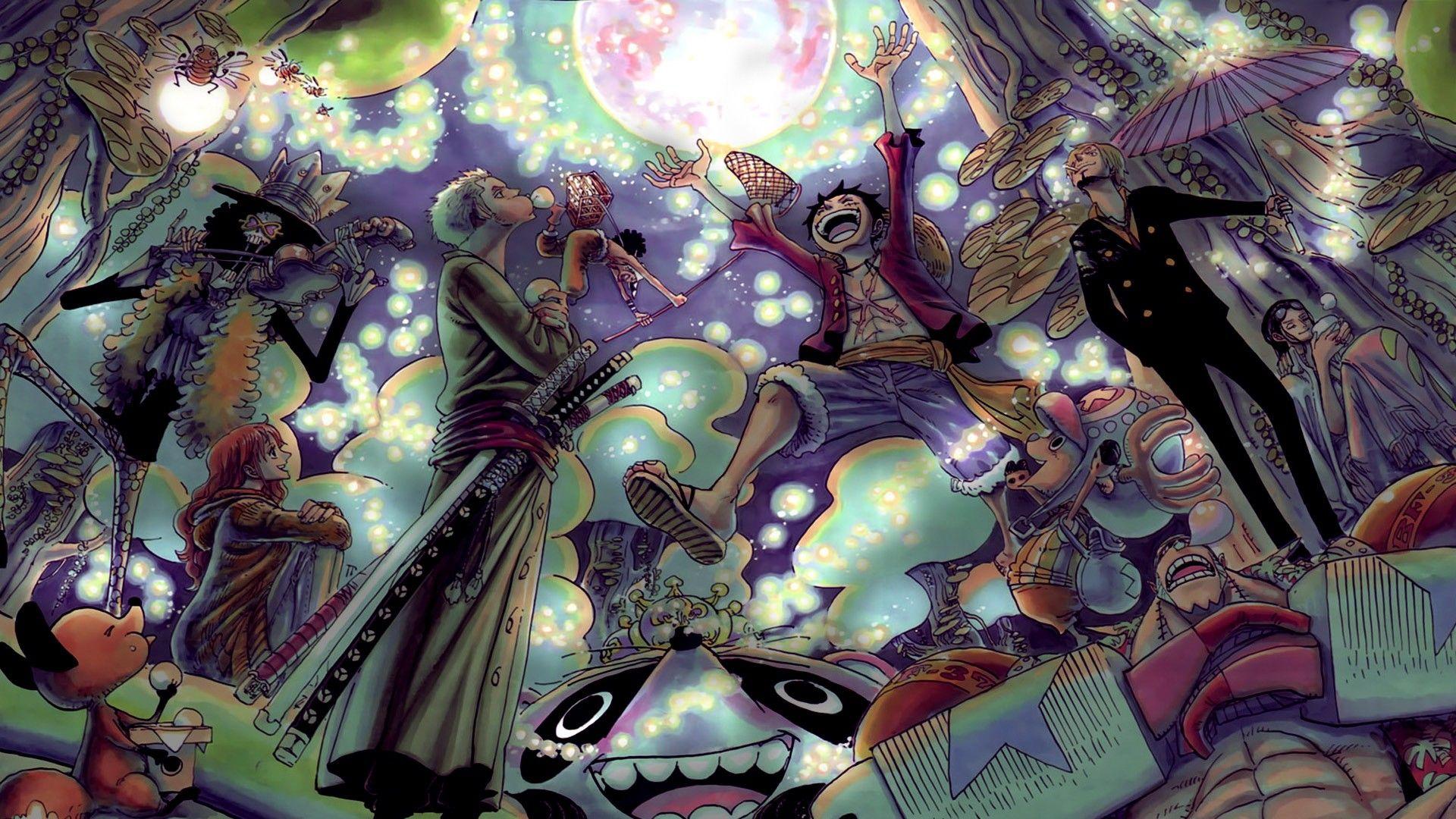 One Piece, Art Desktop