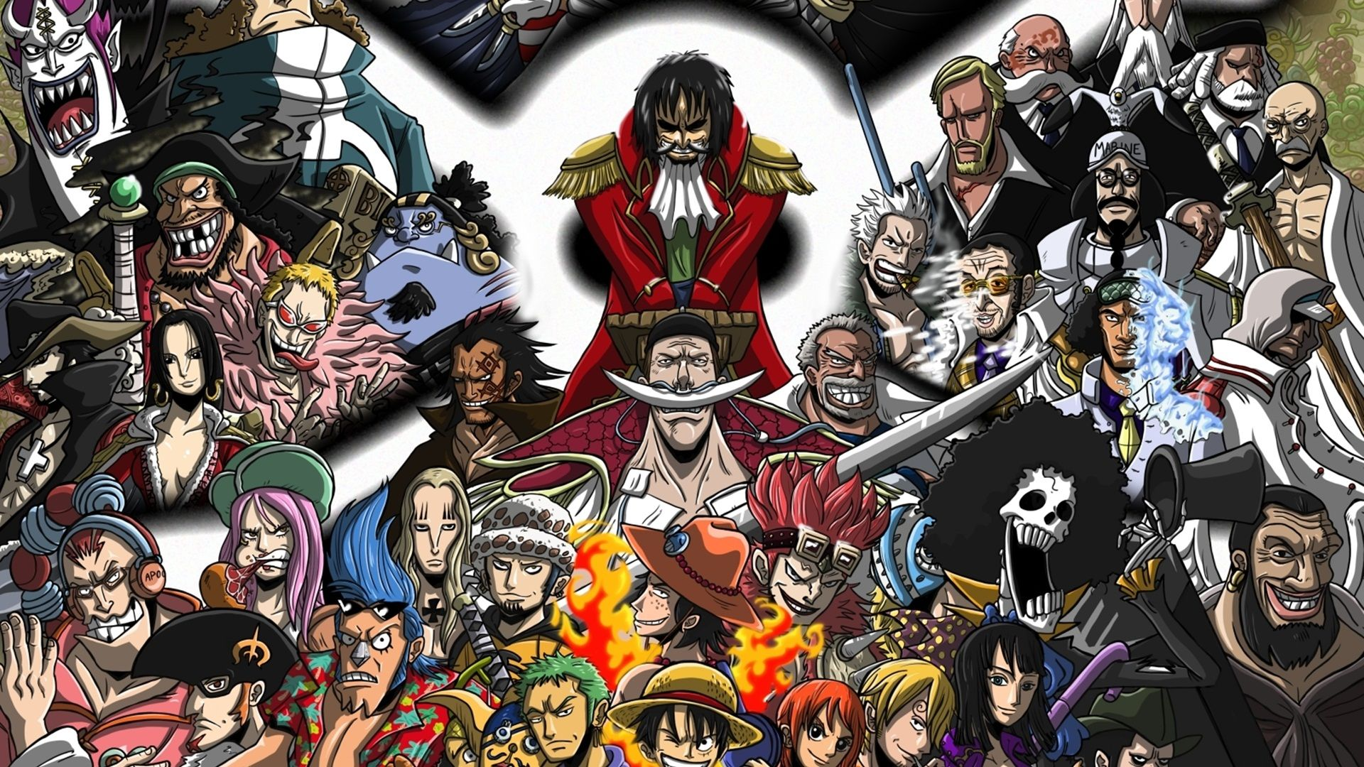 One Piece Characters, Gambar