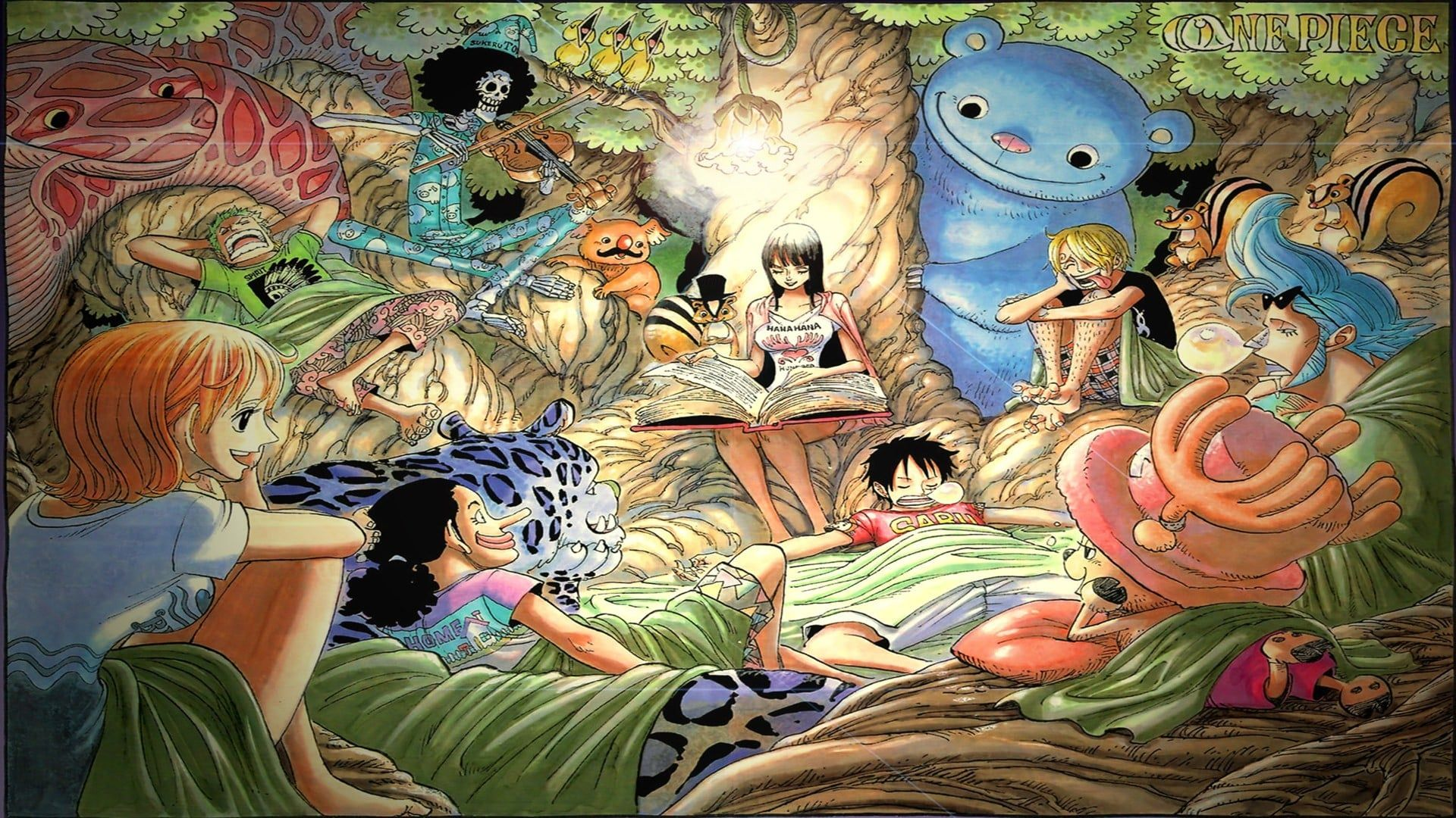 One Piece Cover Anime