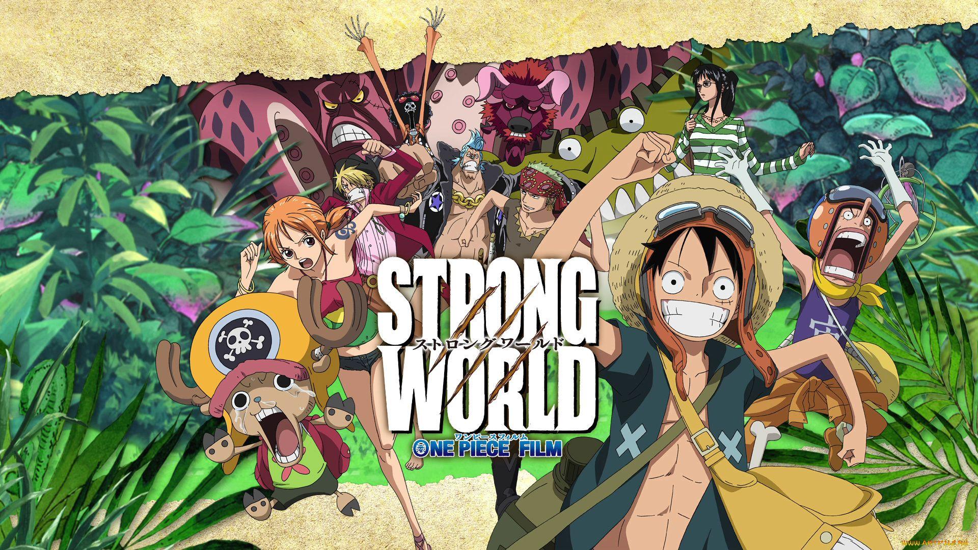 One Piece Cruel World, One Film Strong World