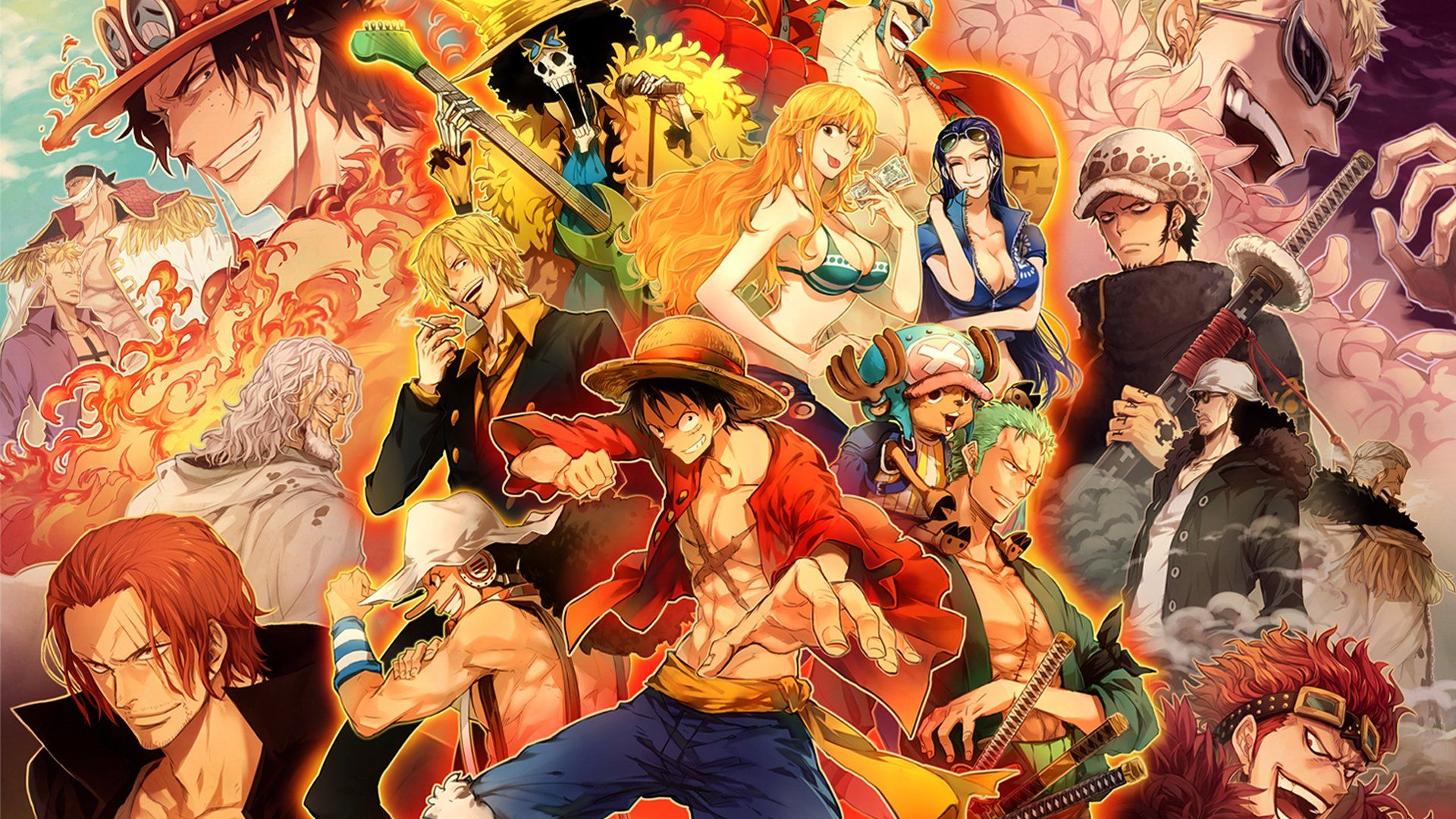 One Piece Fanart, Of The Picture To Your Desktop