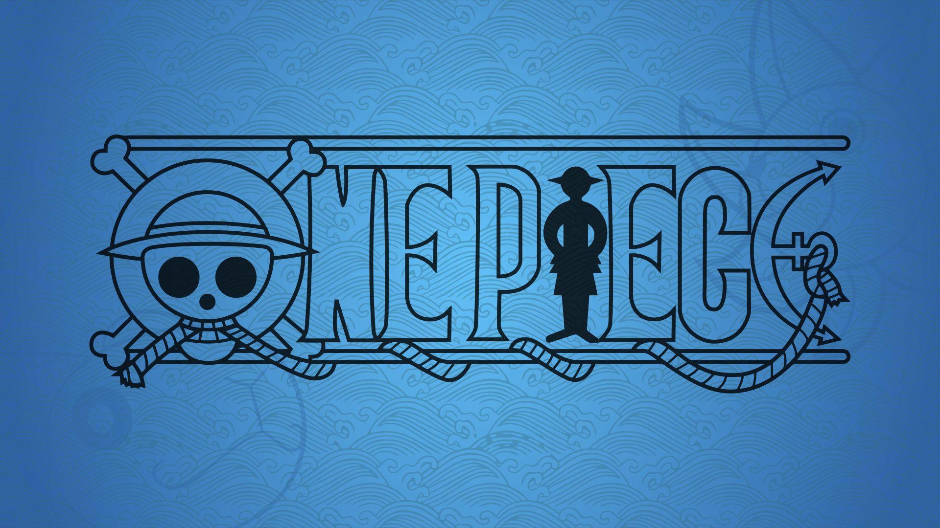 One Piece Logo, Anime Wallpaper