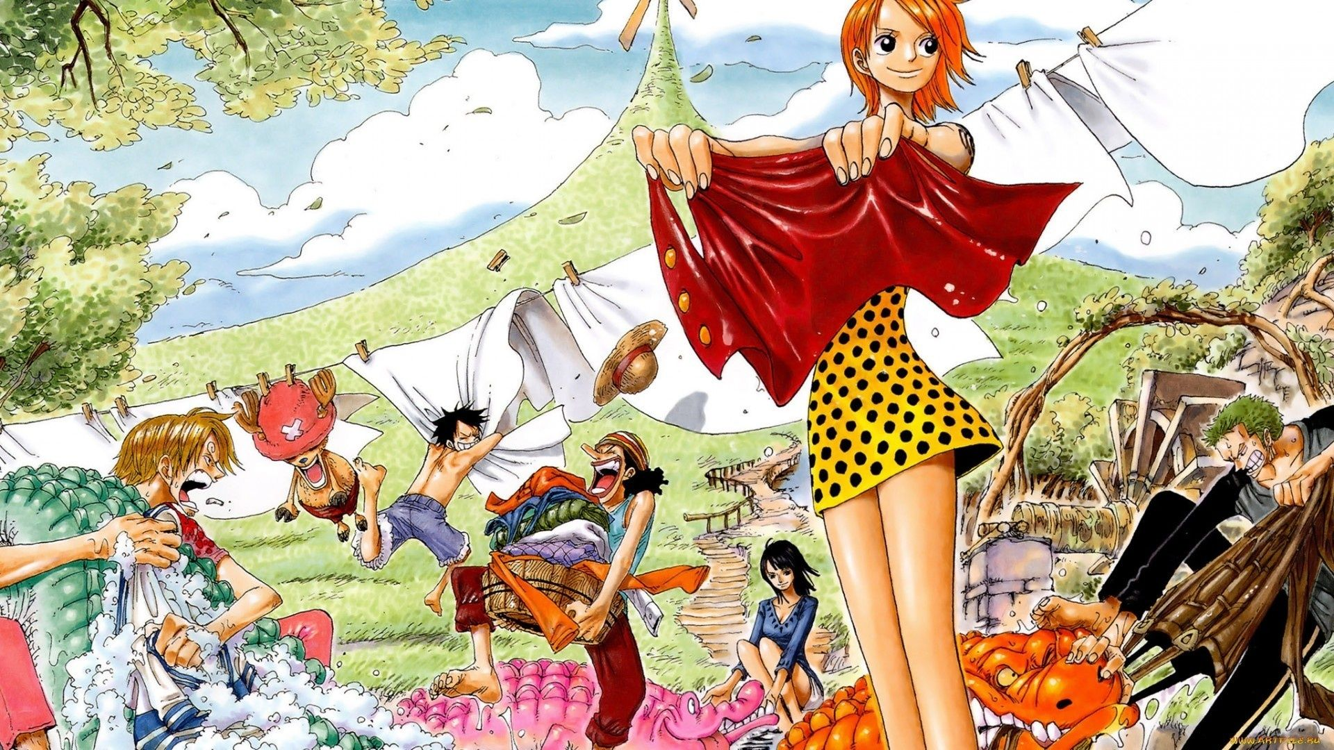 One Piece Of Official Art