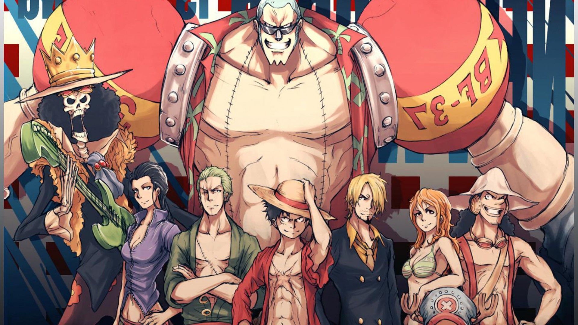 One Piece Three Monsters A Straw Hat, Anime 2019