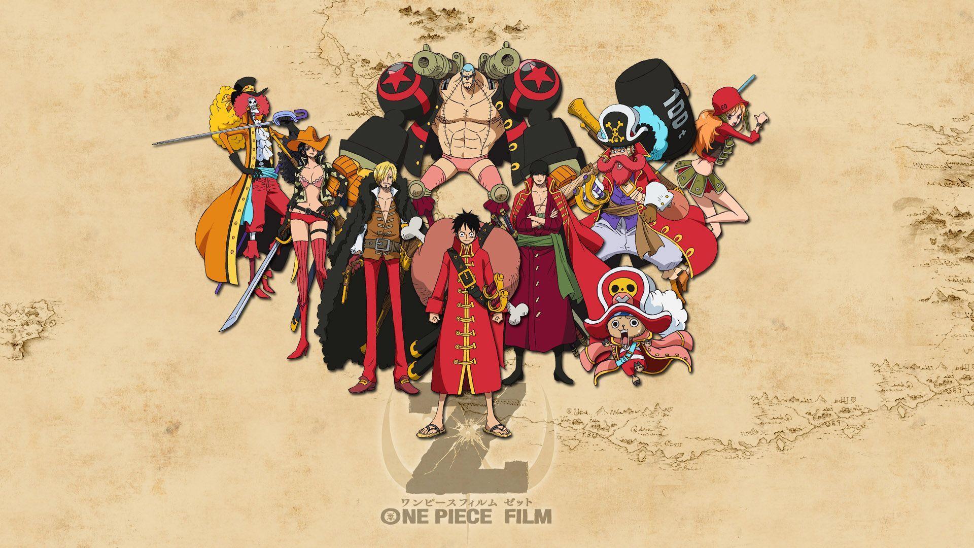 One Piece Wallpaper, Film Z