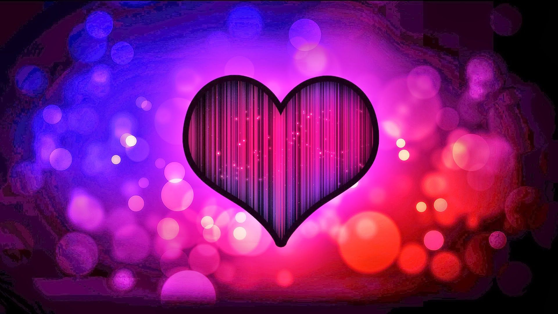 Pictures Background Love Heart Screensaver