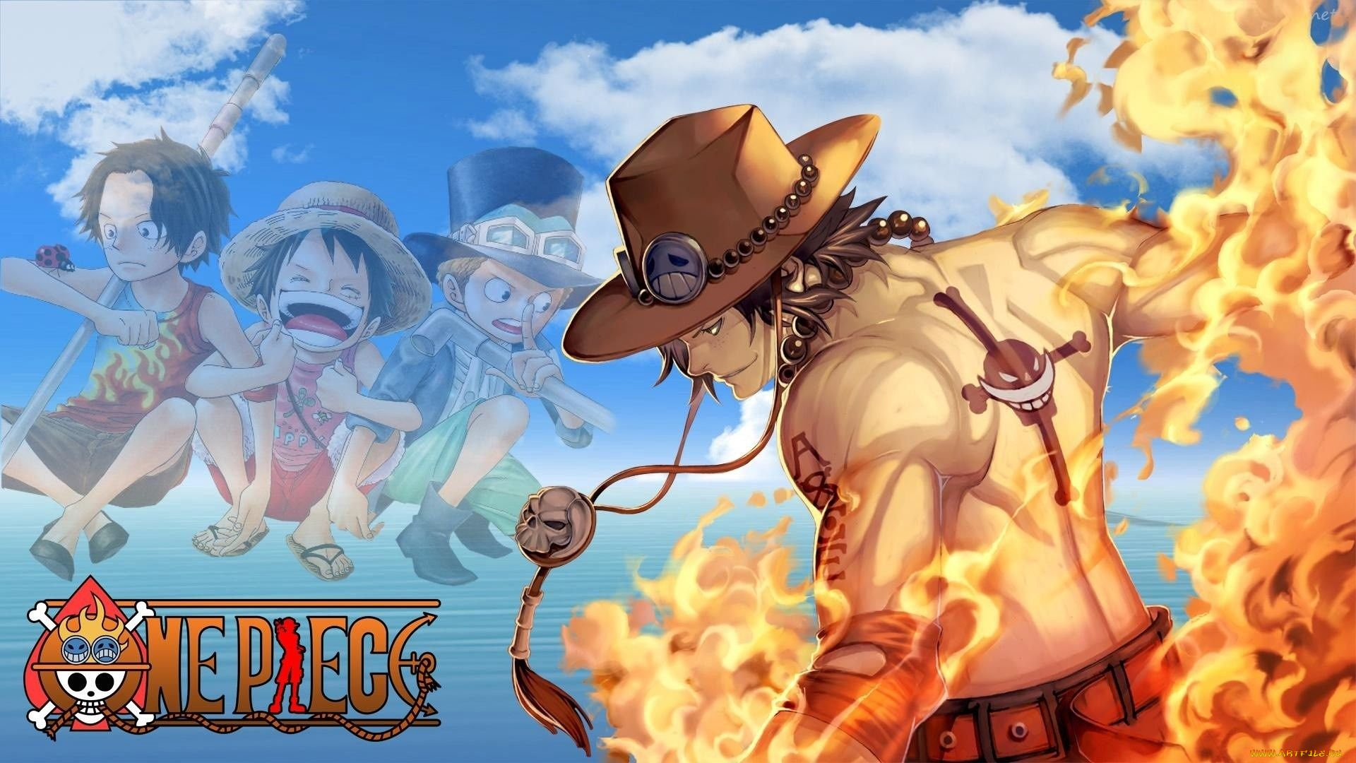Portgas D Ace Art, One Piece