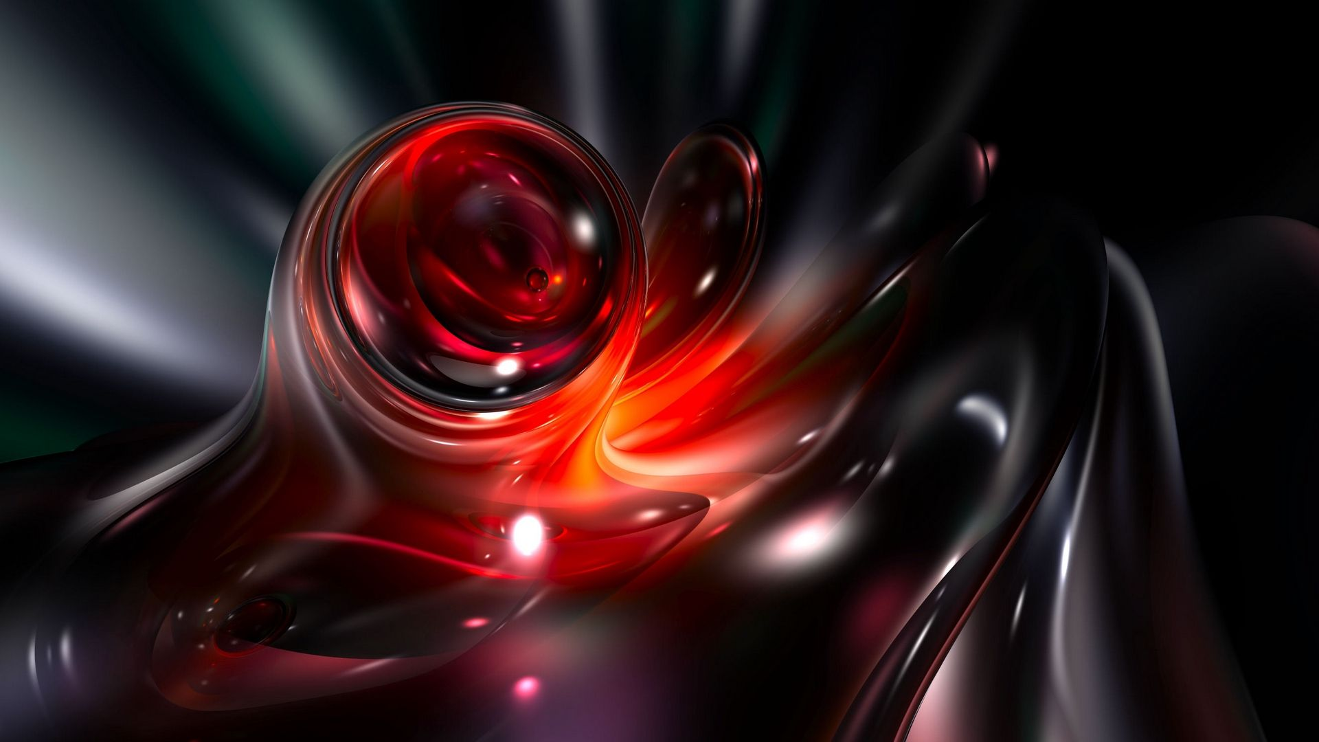 Red Abstract, Abstraction