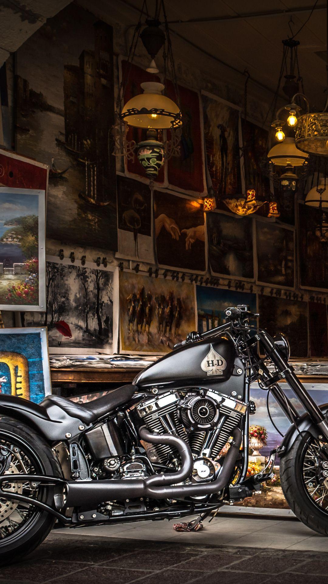 Sachtleben Harley Davidson, Classic, Chopper, Cruiser, Night