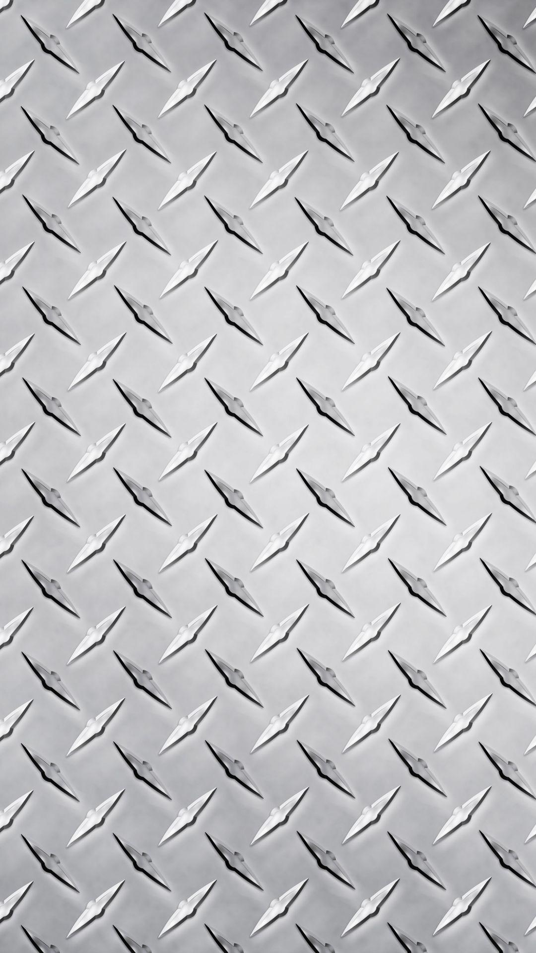 Shiny Silver Wallpaper