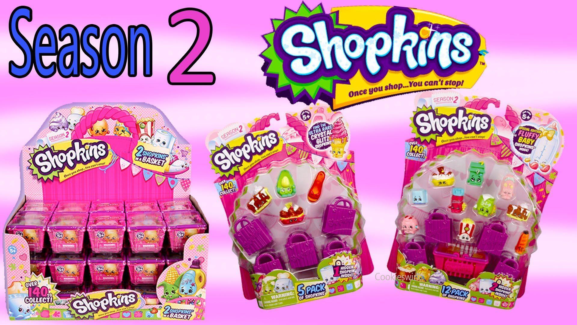 Shopkins Season News Series Two Playset So Cool Fridge Blind Bag Baske
