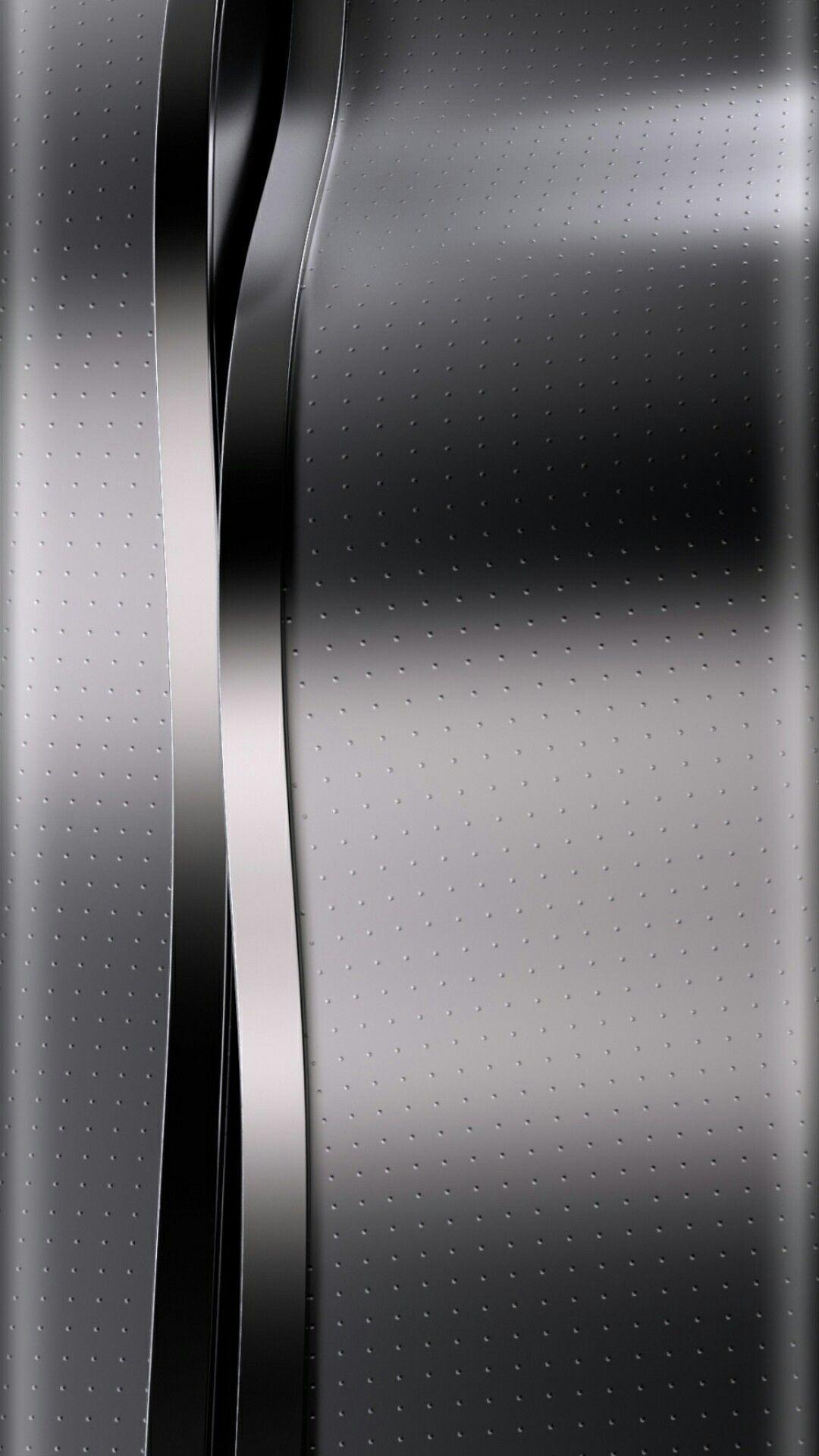 Silver And Black Chrome Wallpaper Wallpaper Edge, Metallic Wallpaper
