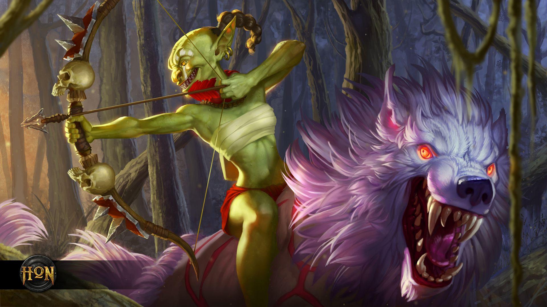 Sinew Forsaken Archer Wallpaper Heroes Of Newerth Lore