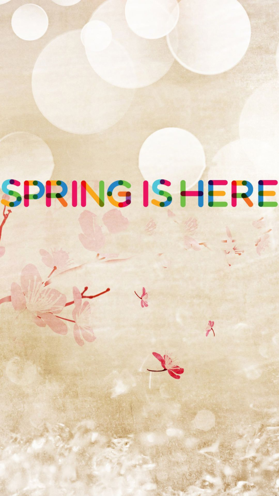 Spring Is Here Wallpaper