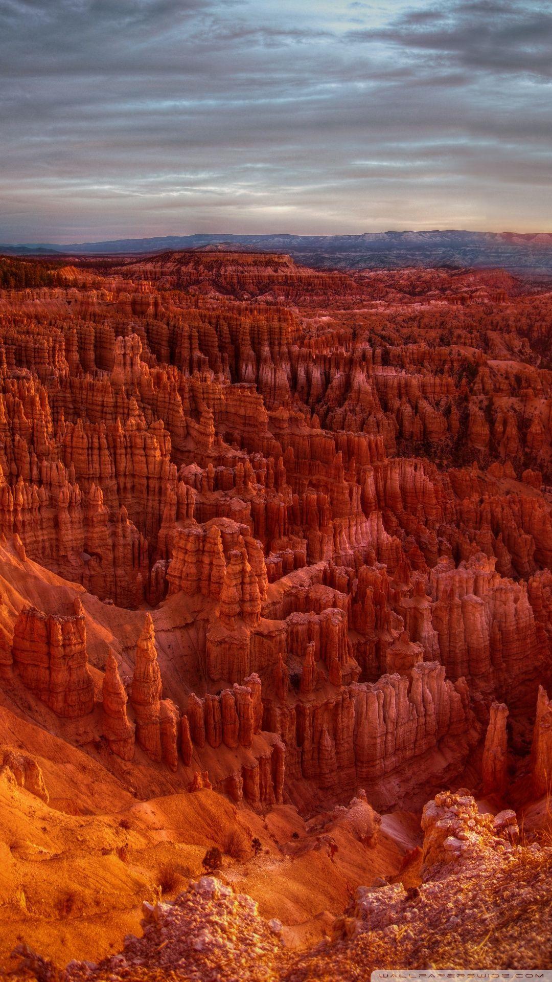 Sunrise At Bryce Canyon Hd Desktop Wallpapers Widescreen High