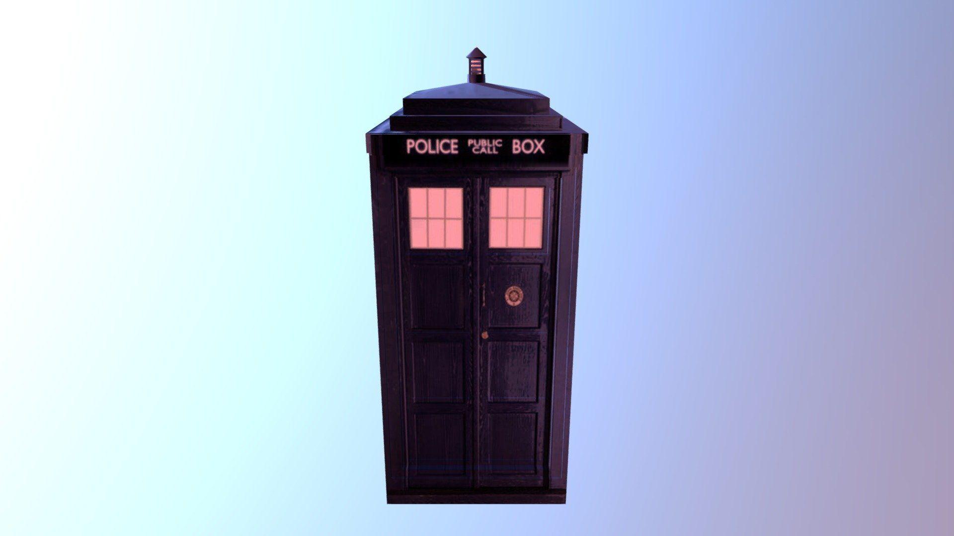 Tardis Doctor Who D Model By Haker Haker