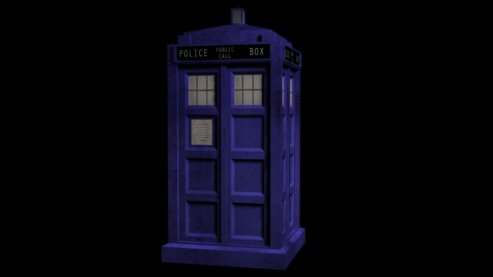 Tardis Doctor Who Remake