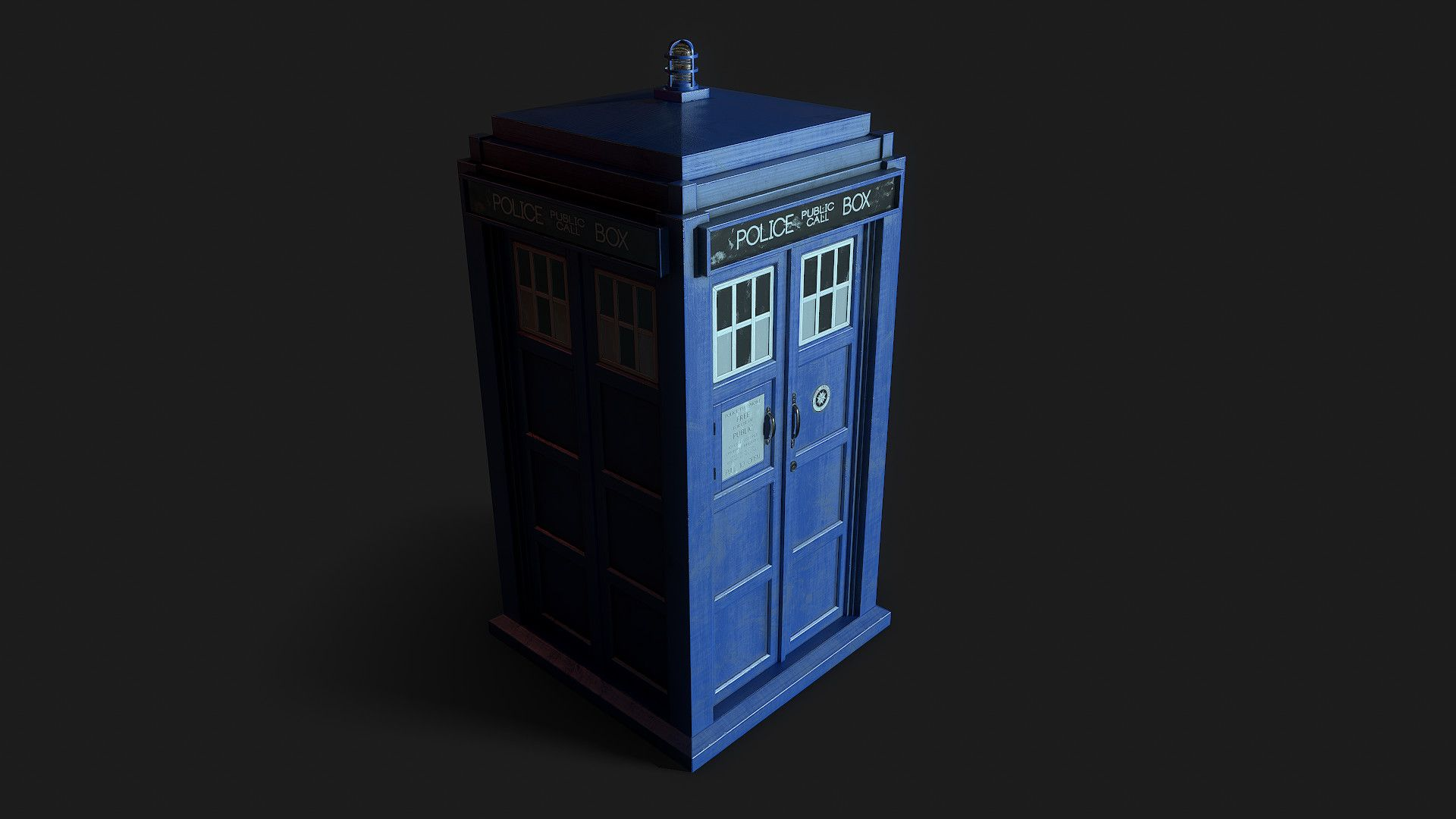 Tardis Time And Relative Dimension In Space Vr Project